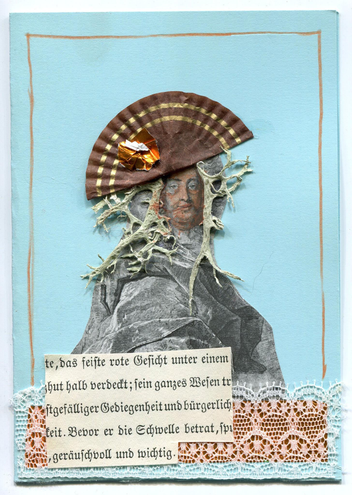 Über flüssige Worte II, Collage