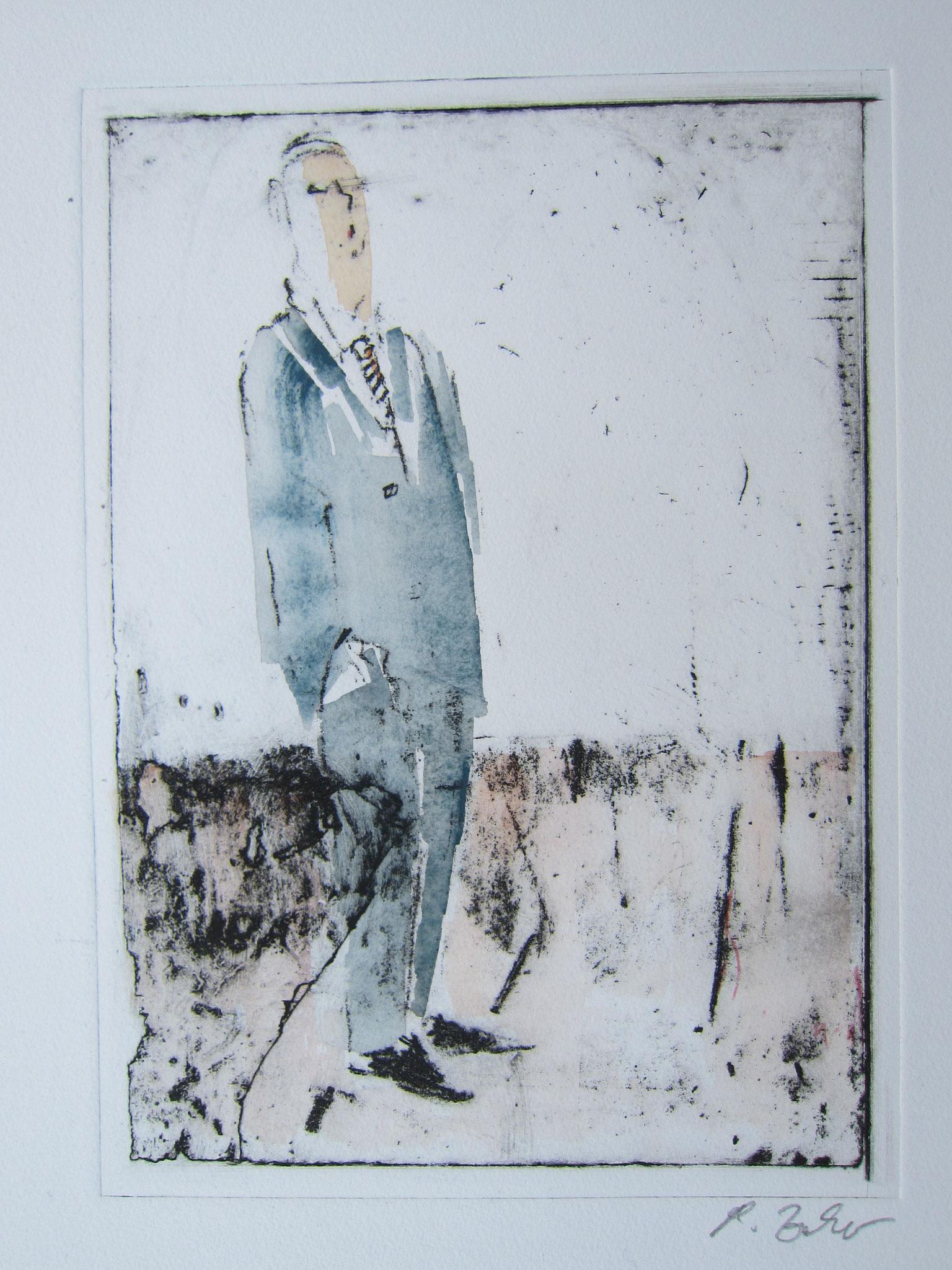 Poised, Intagliotypie, 70 x 50 cm