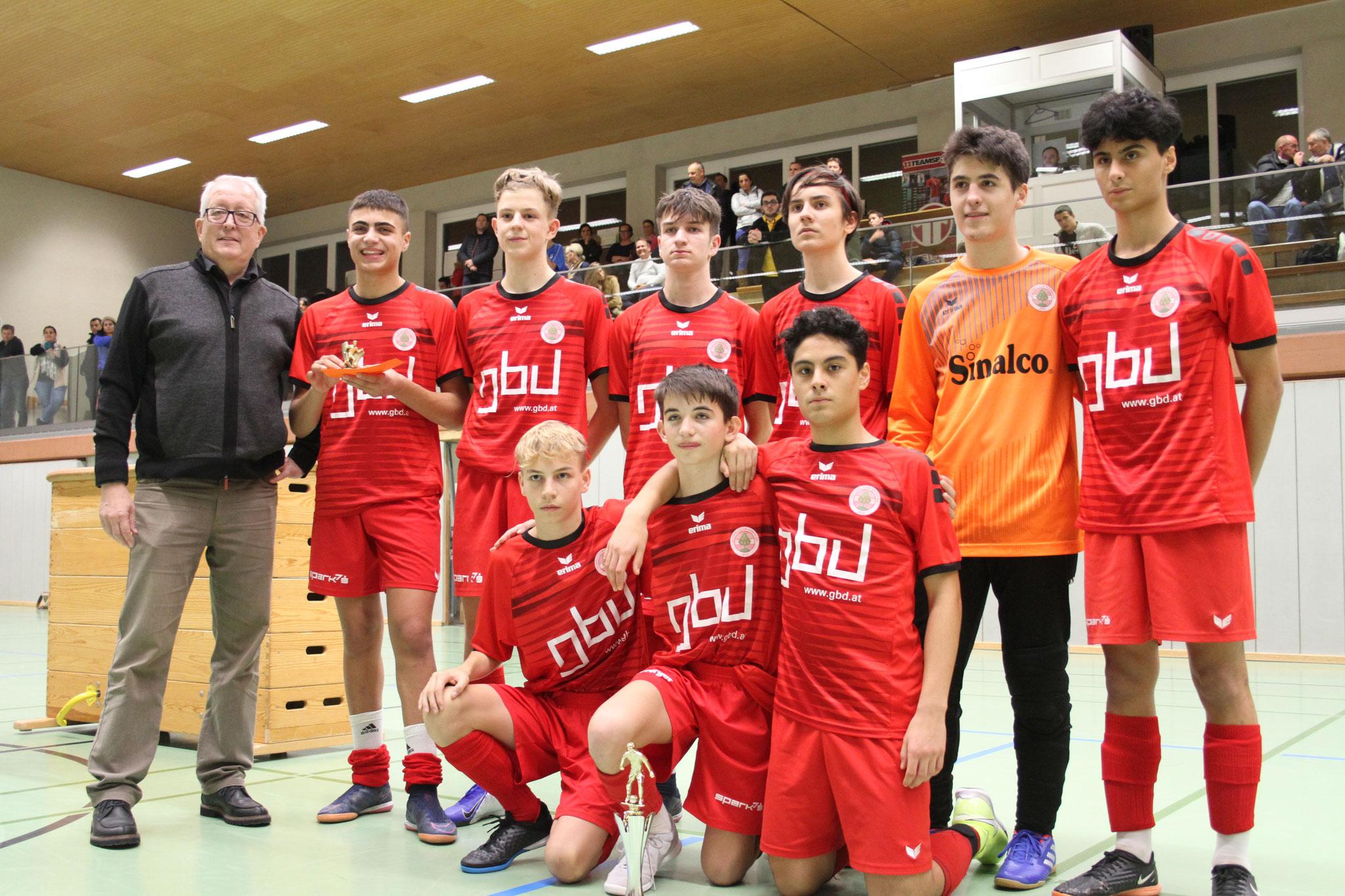 Sieger U16 - FC Dornbirn