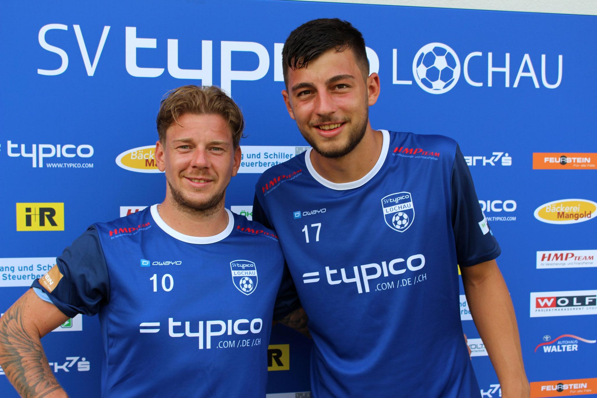 #10 Stefan Macccani & #17 Fabio Feldkircher