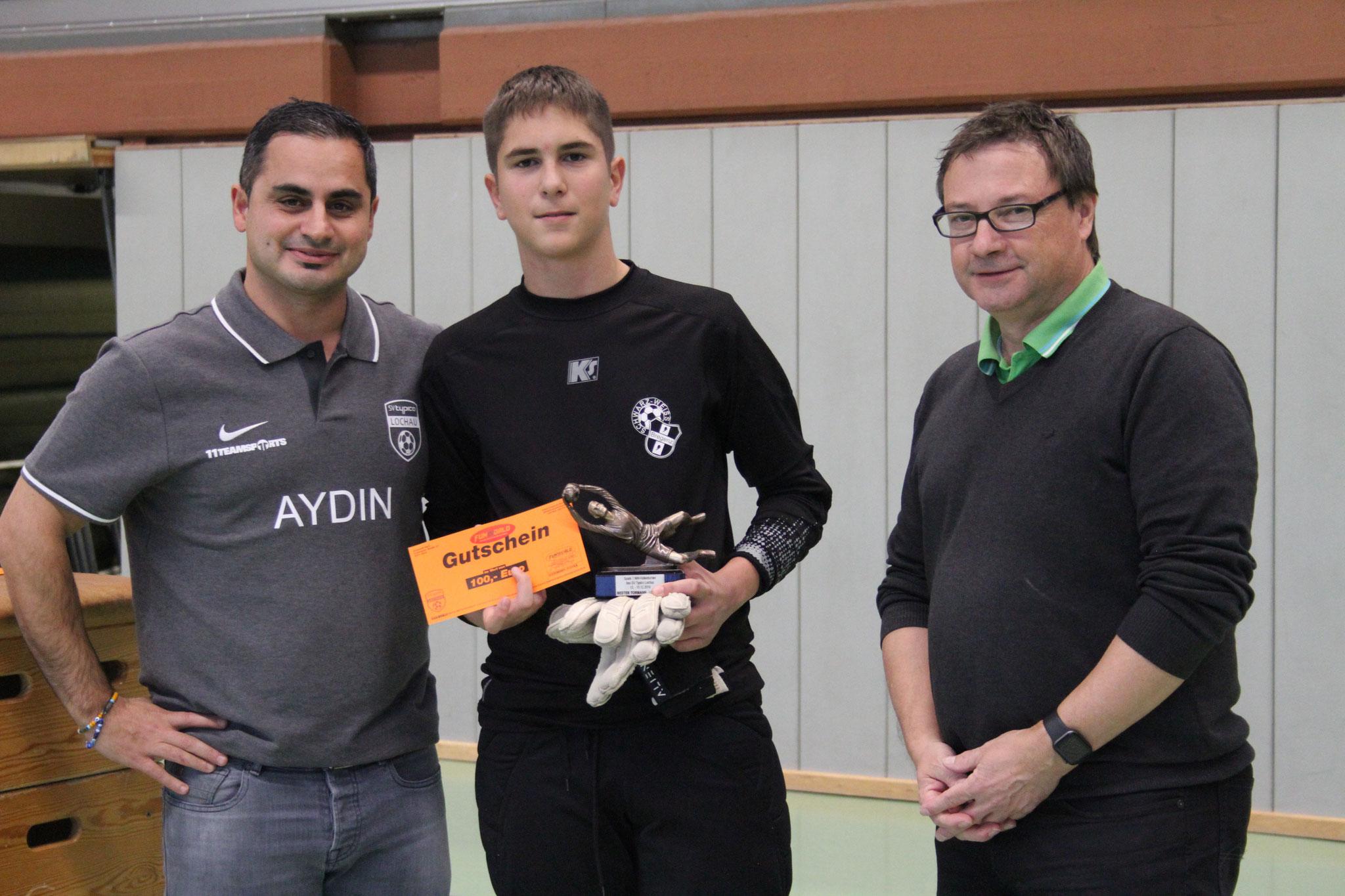 Bester Tormann U14 - Tyler-Ryan Linder (SW Bregenz)