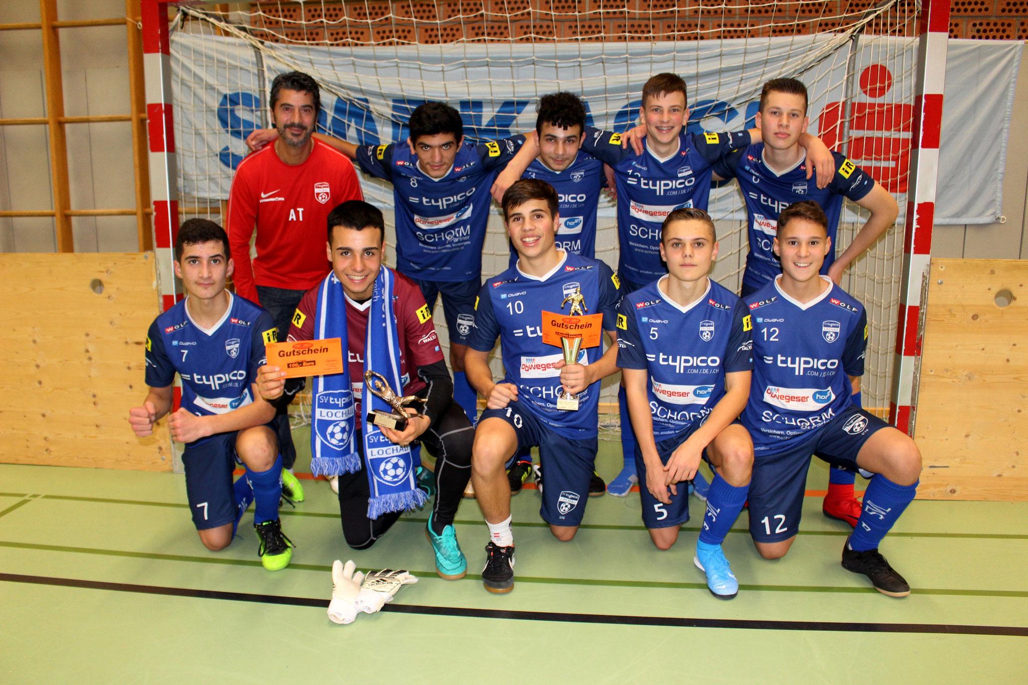 2. Platz U14 - SV Lochau