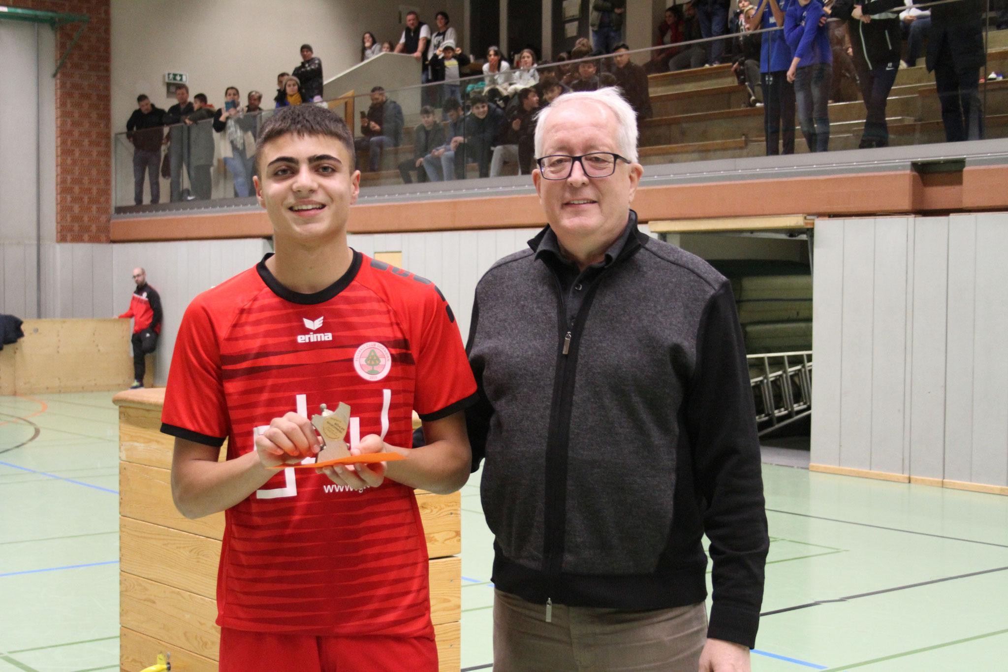 Bester Spieler - Bekem Bicki (FC Dornbirn)