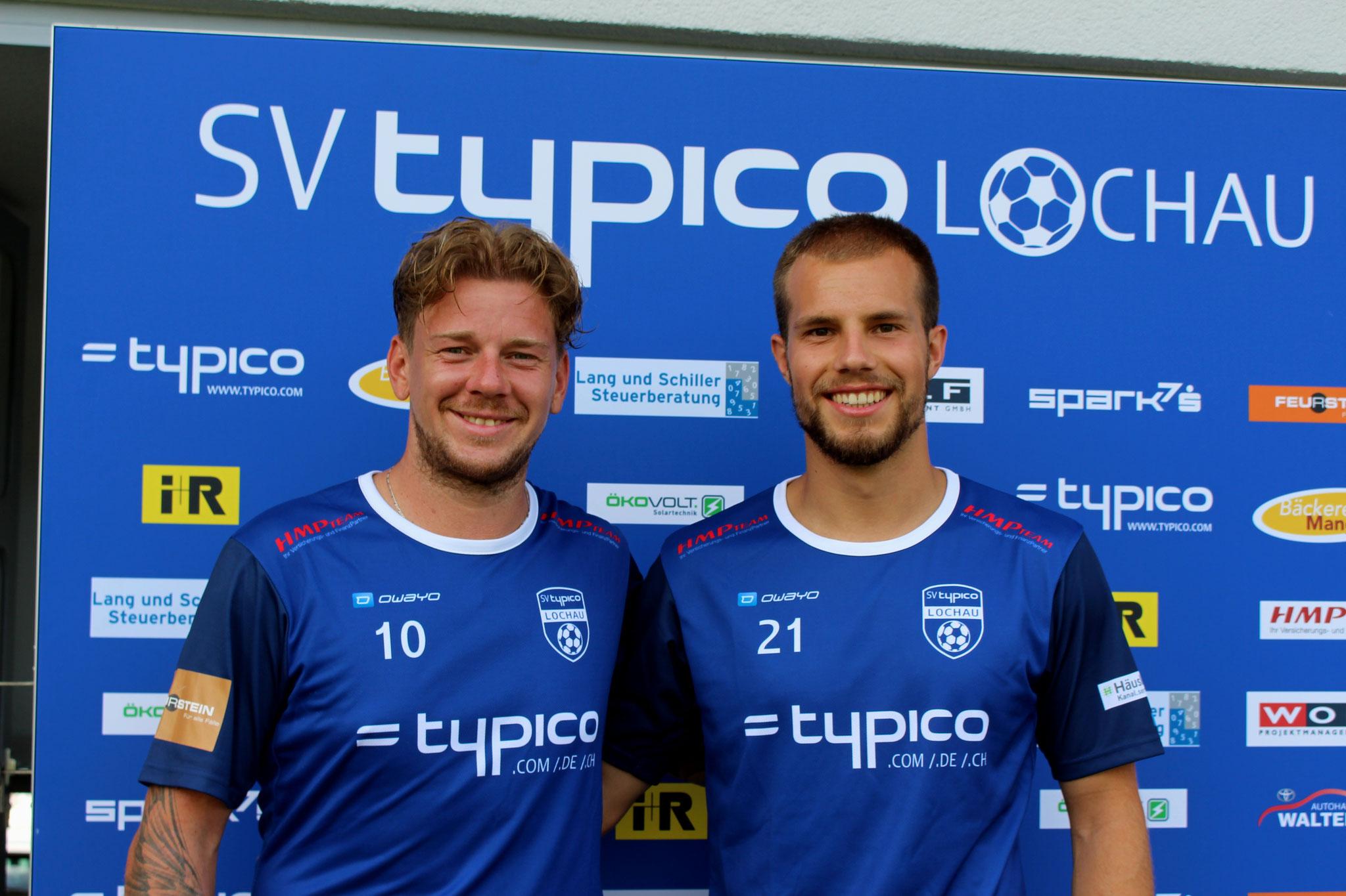 #10 Stefan Maccani & #21 Niklas Ausserlechner