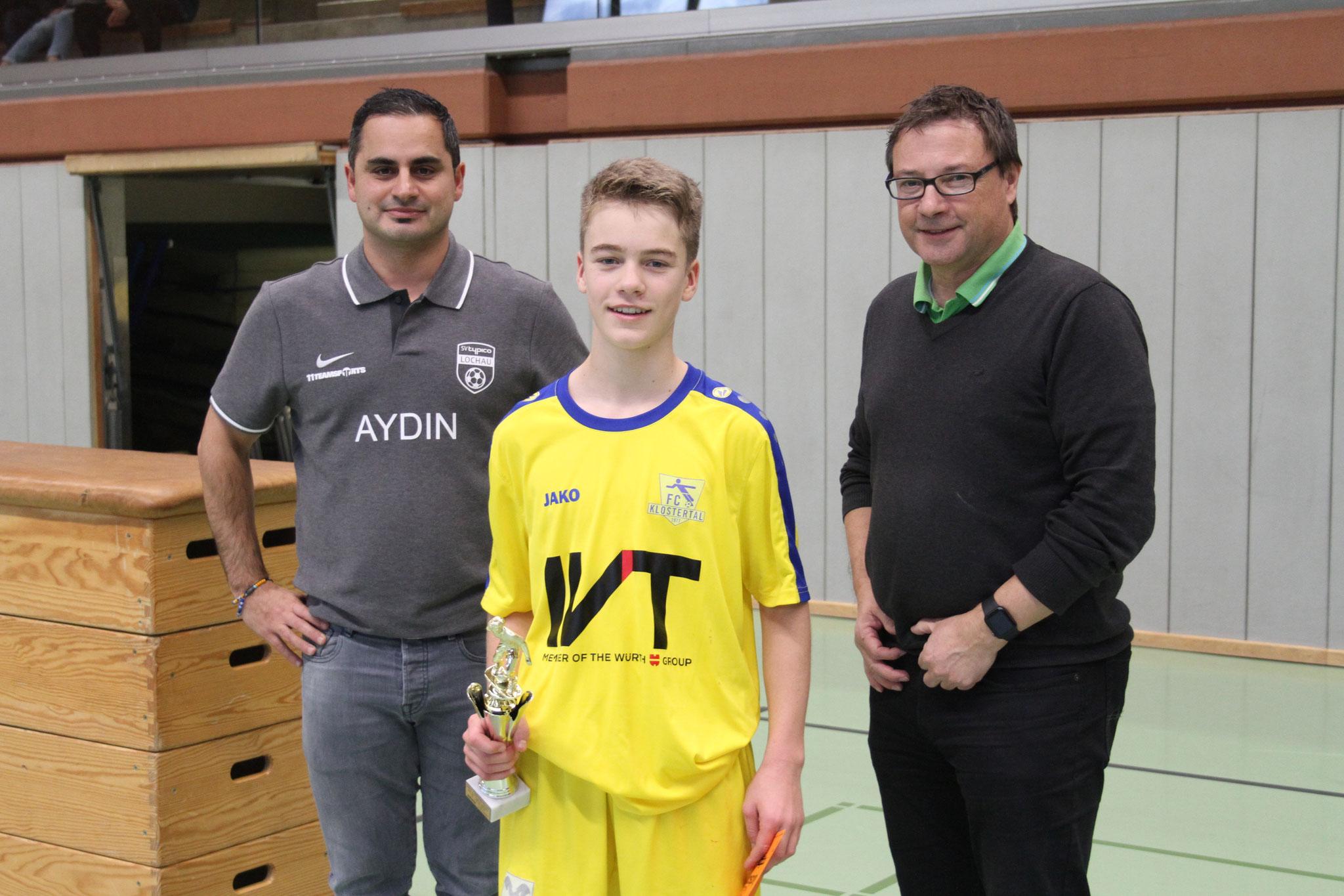 Sieger U14 - FC Klostertal