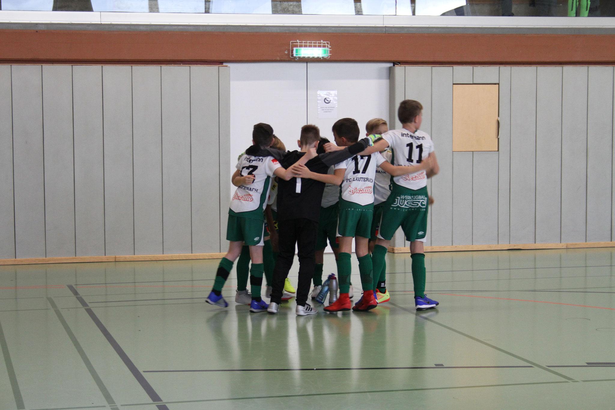 Einstimmung beim FC Lauterach aufs Turnier
