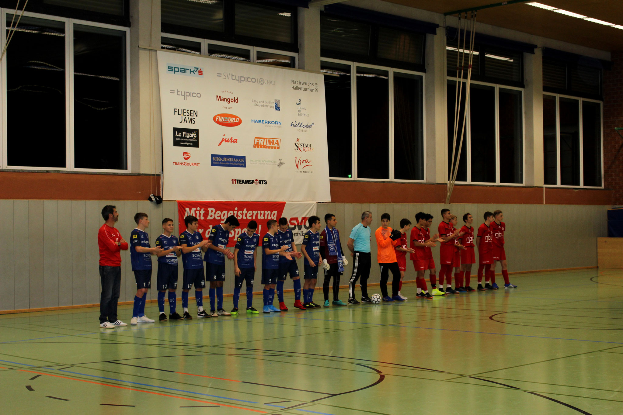 Vor dem Finale SV Lochau - FC Dornbirn