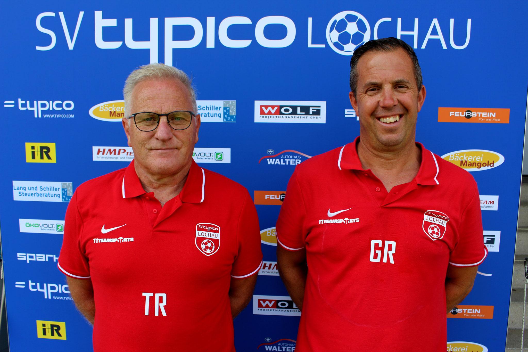 Trainer Peter Sallmayer & Co-Trainer Günther Riedesser