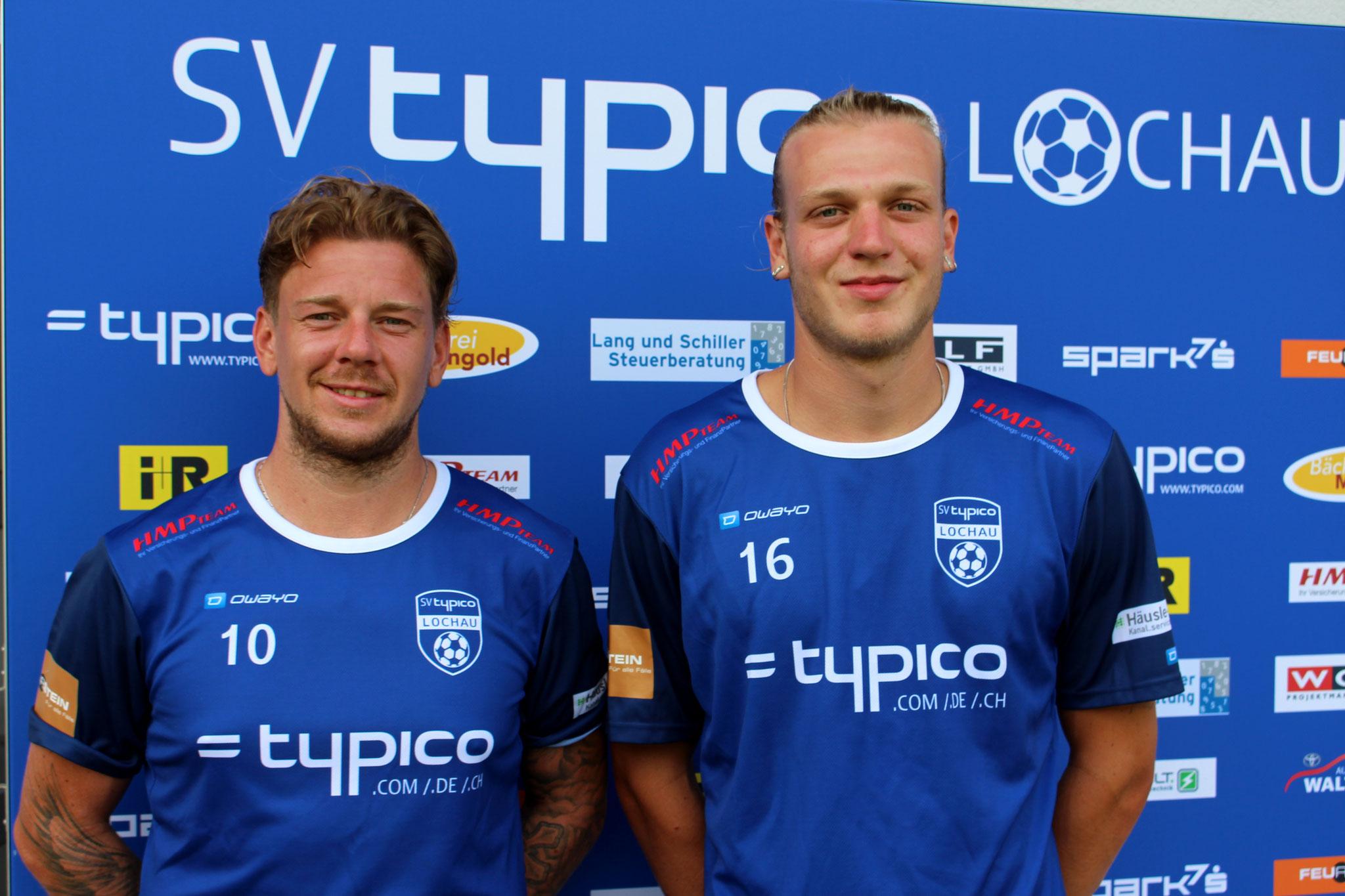 #10 Stefan Maccani & #16 Philipp Rupp