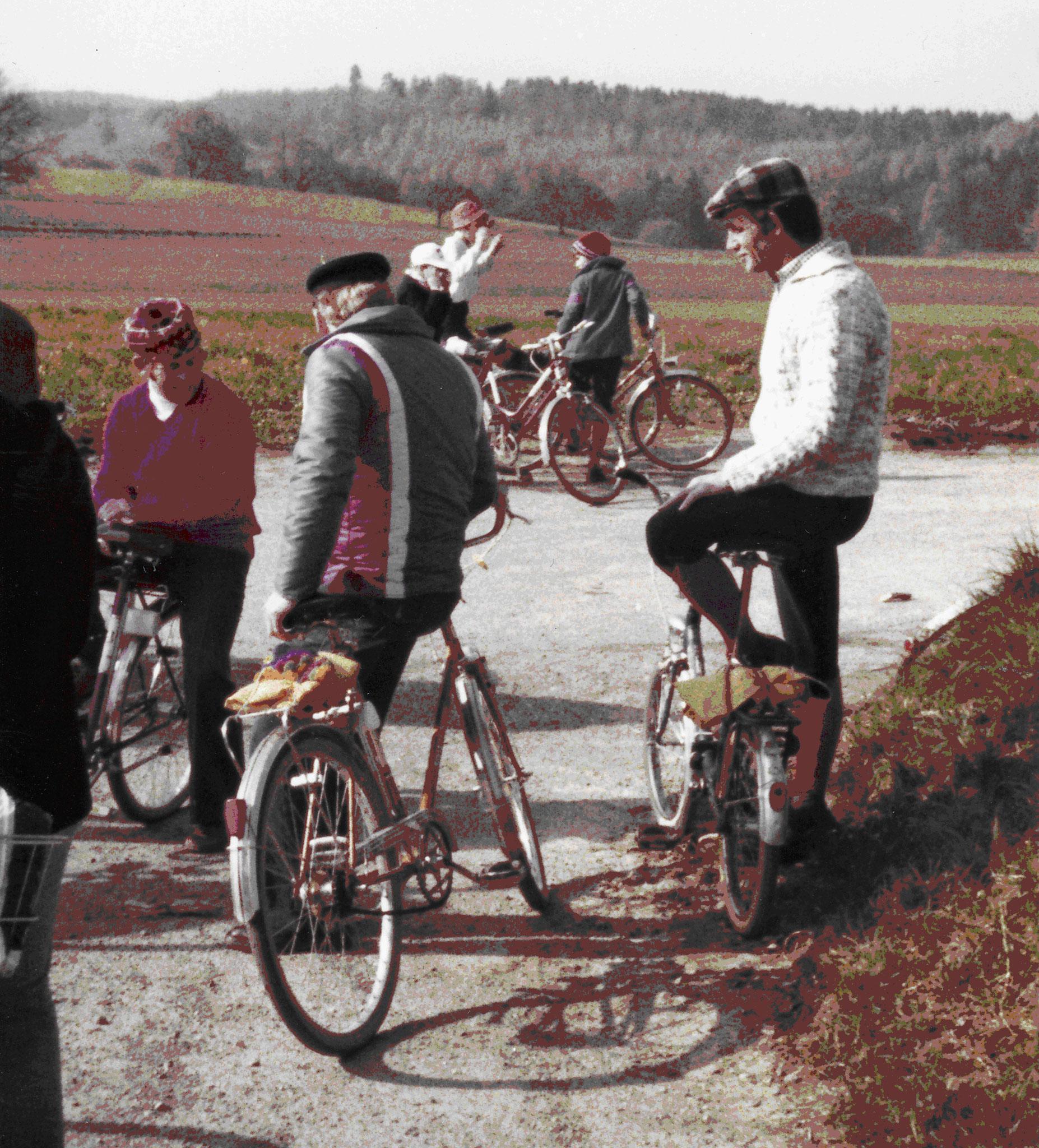 Radtour des Musikvereins - 1973
