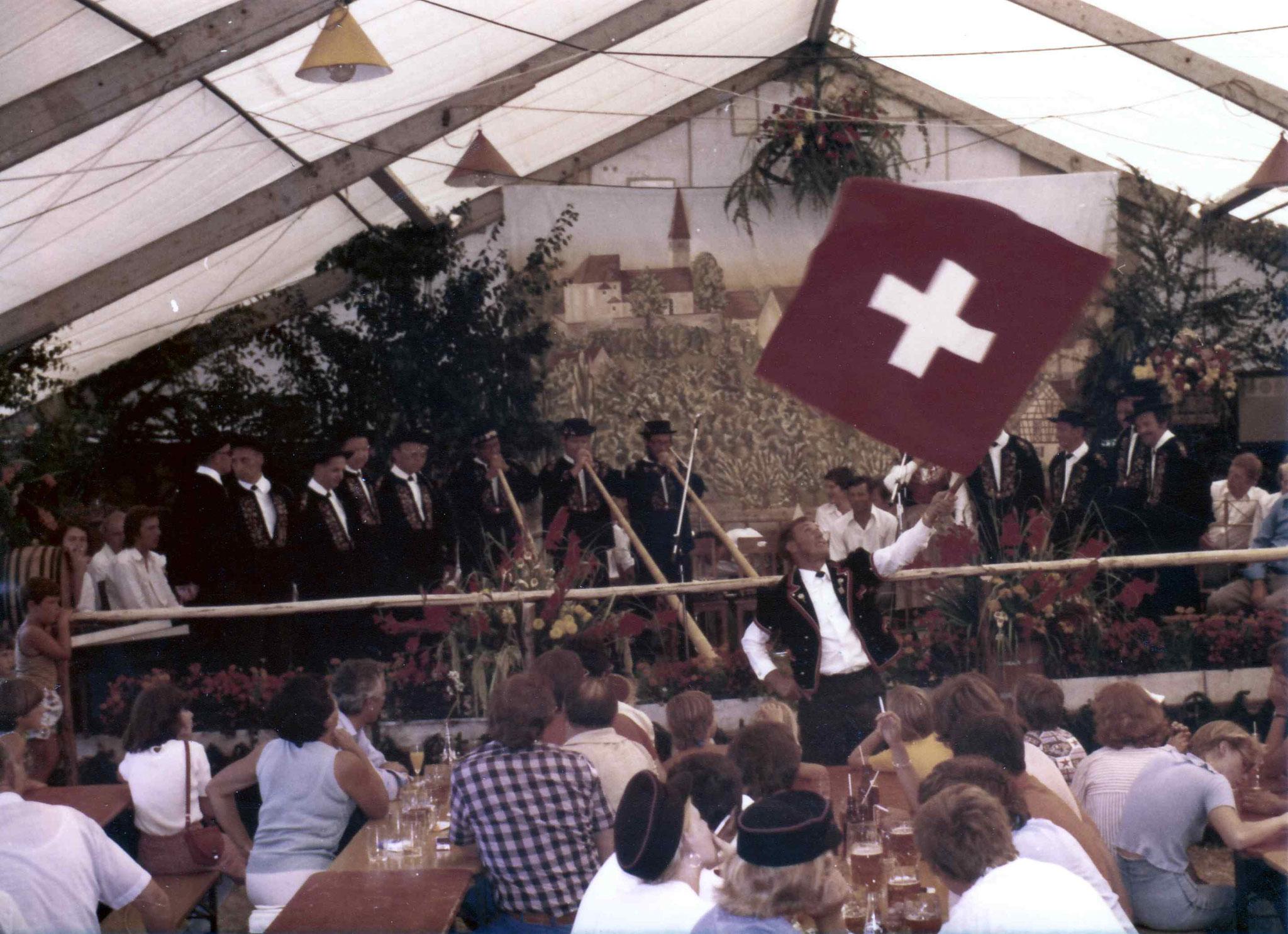 Sommerfest 1975 mit den Frauenfeldern
