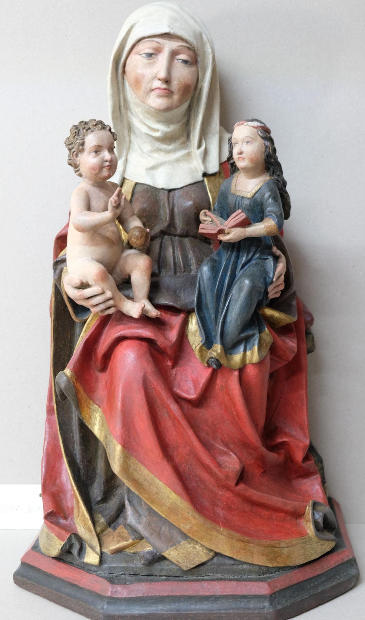 Anna Selbdritt um 1520 Diözesanmuseum Freising