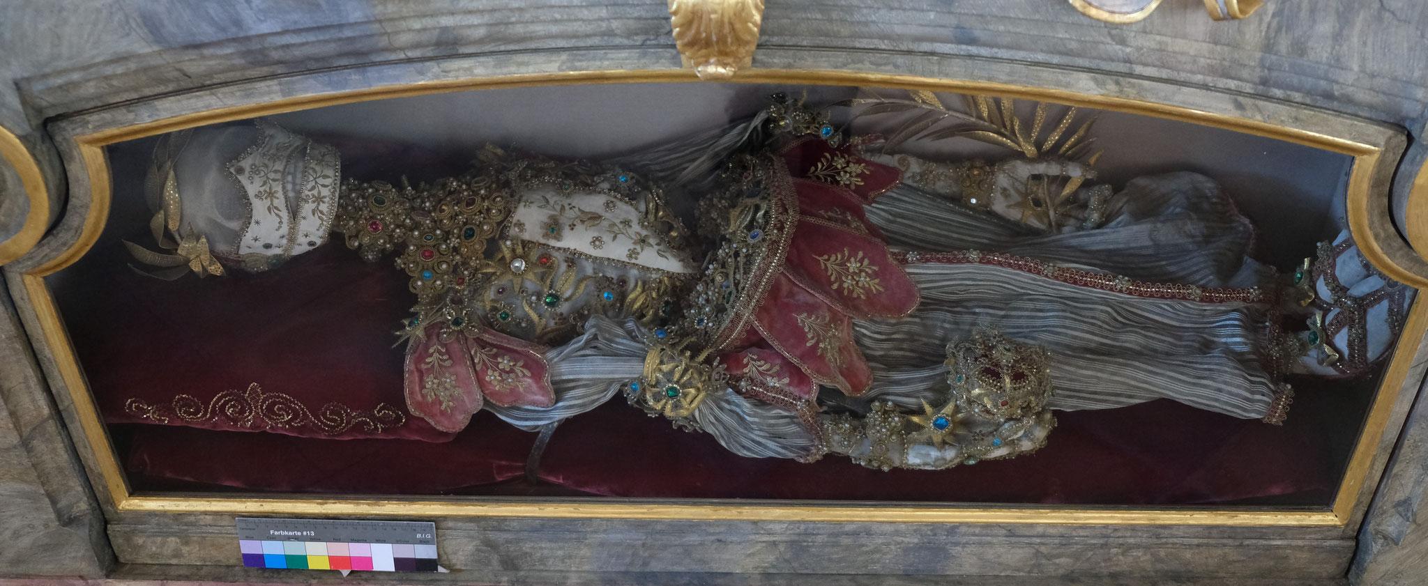 Hl. Leib der Theodora, Gumpersdorf bei Hilgertshofen/Tandern
