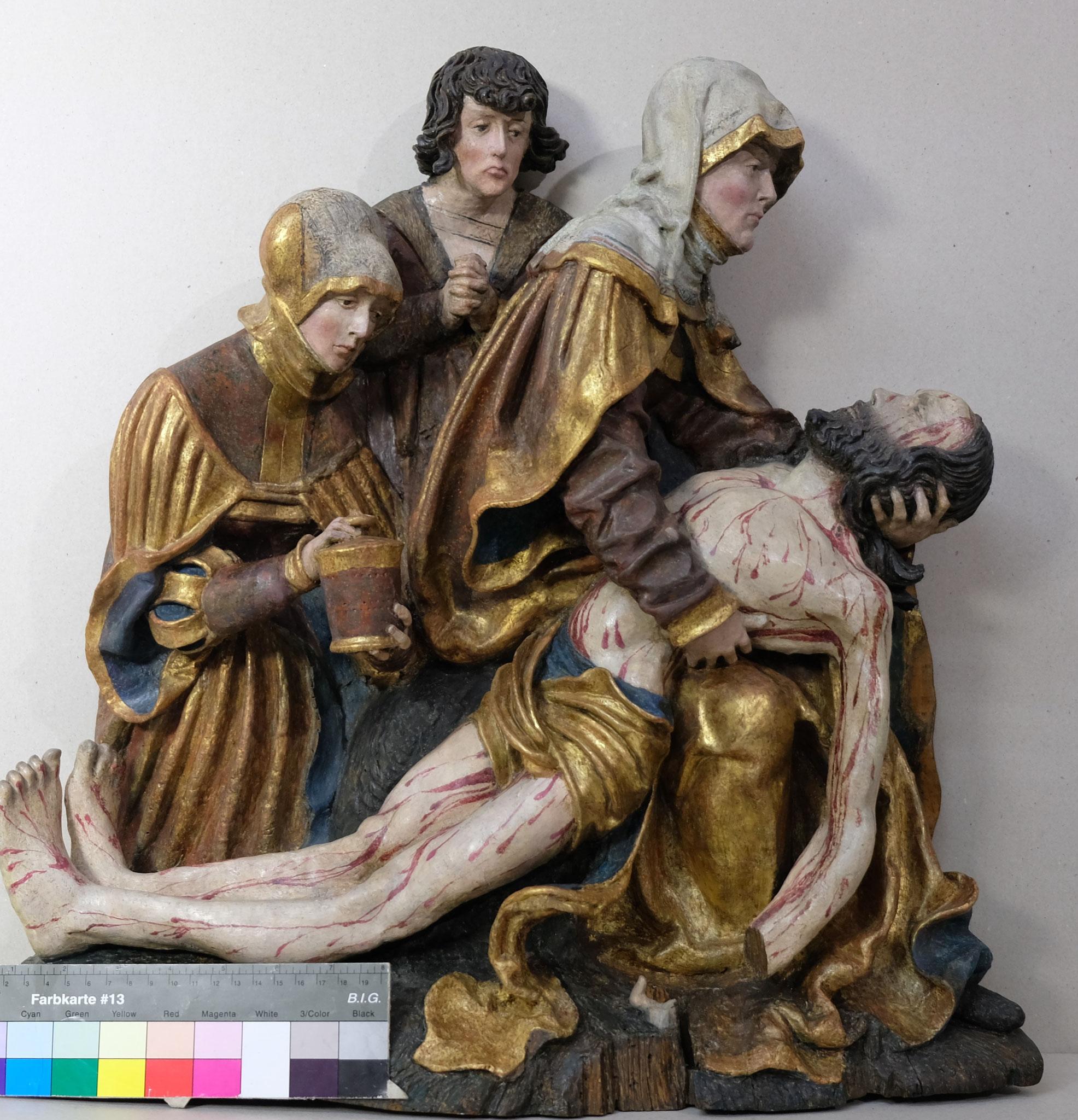 Beweinung Christi um 1520 Diözesanmuseum Freising (Meister der Altöttinger Türen)