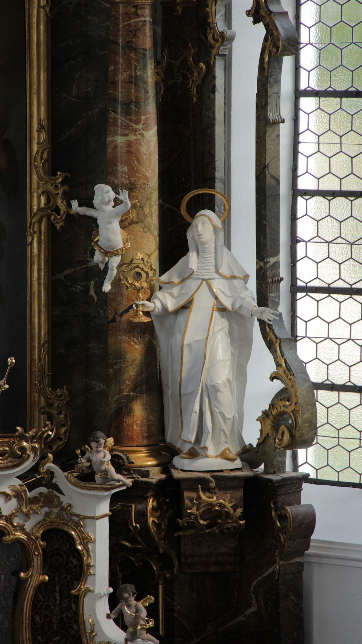 Klosterbeuren Hochaltar Hl. Klara