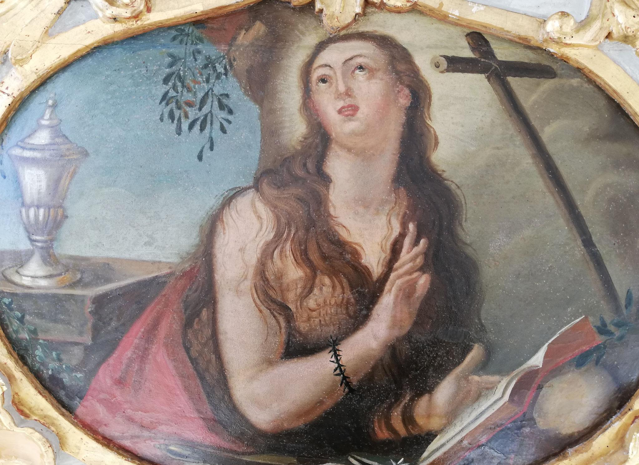 Steingaden Welfenmünster Gemälde auf Holzträger