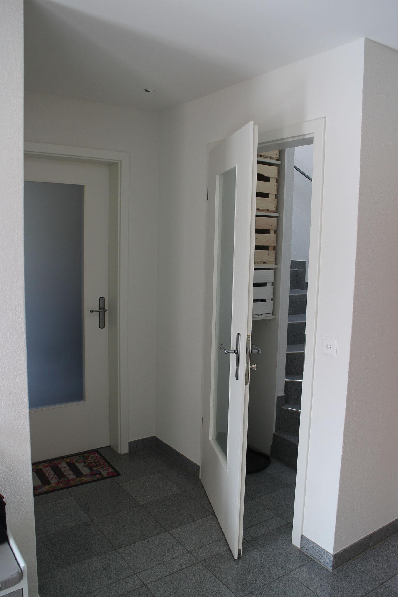 Aus Eins mach Zwei. Umbau eines Einfamilienhauses in zwei Wohnungen.