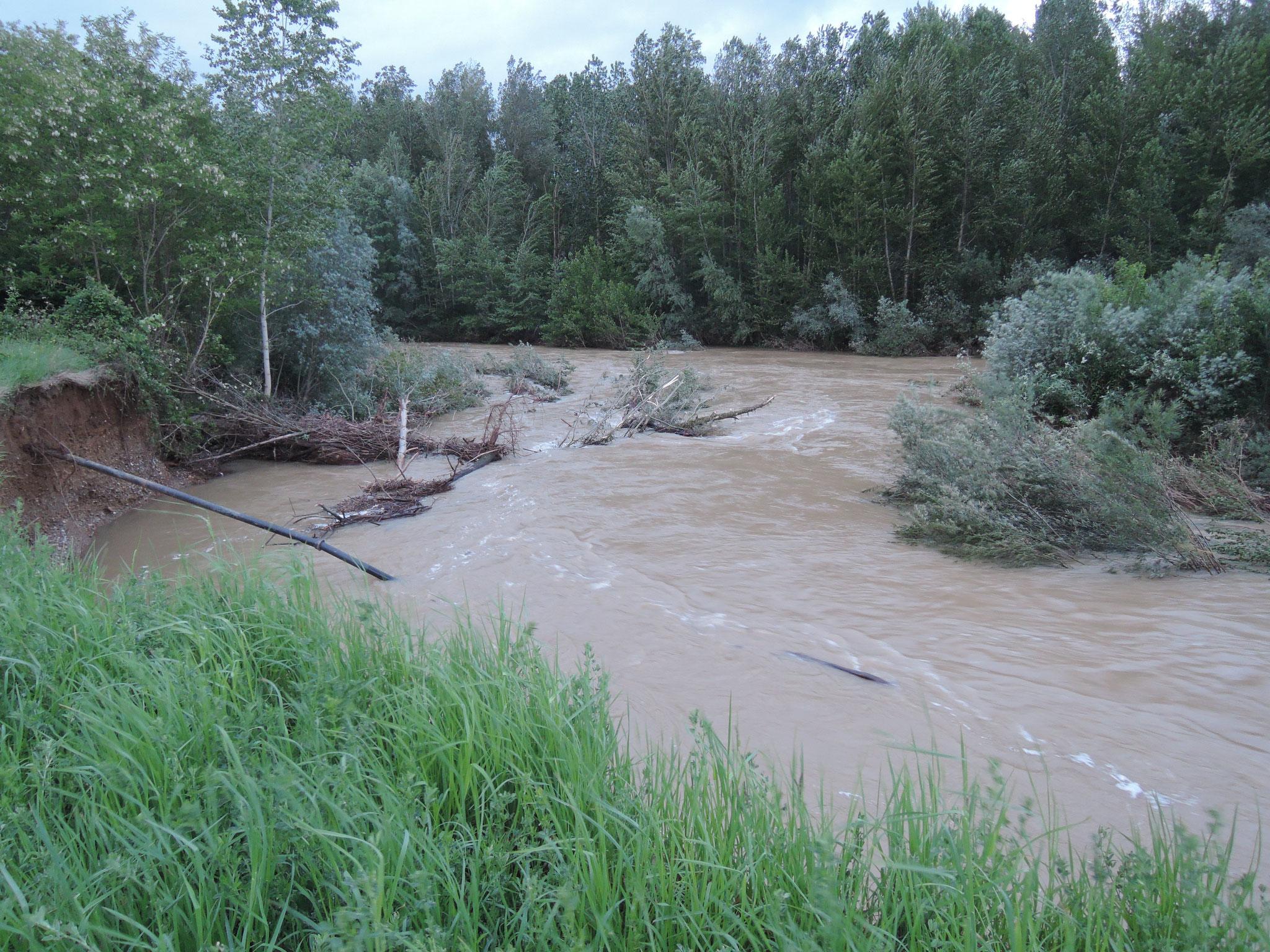 les rivières sont déchaînées
