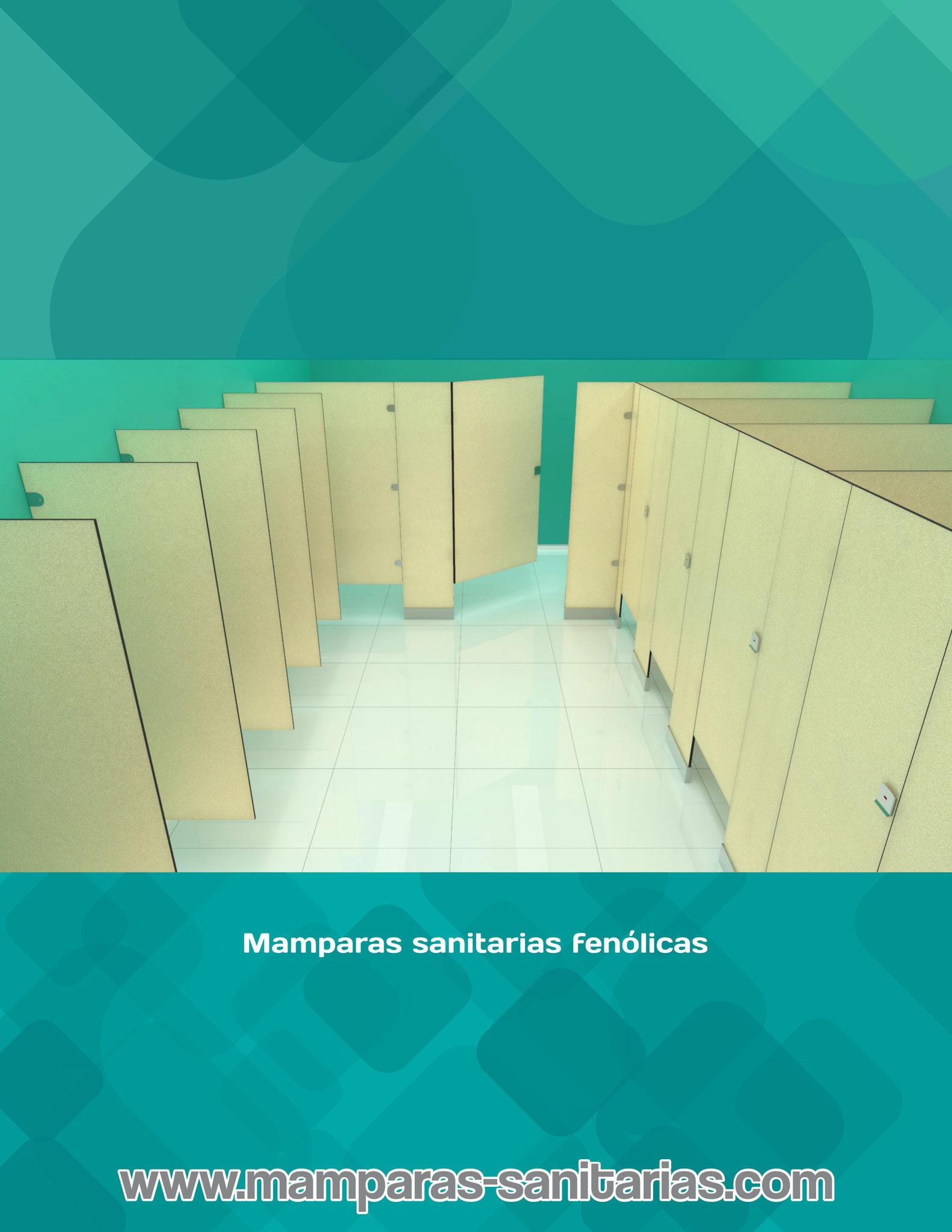 Mamparas sanitarias catálogo