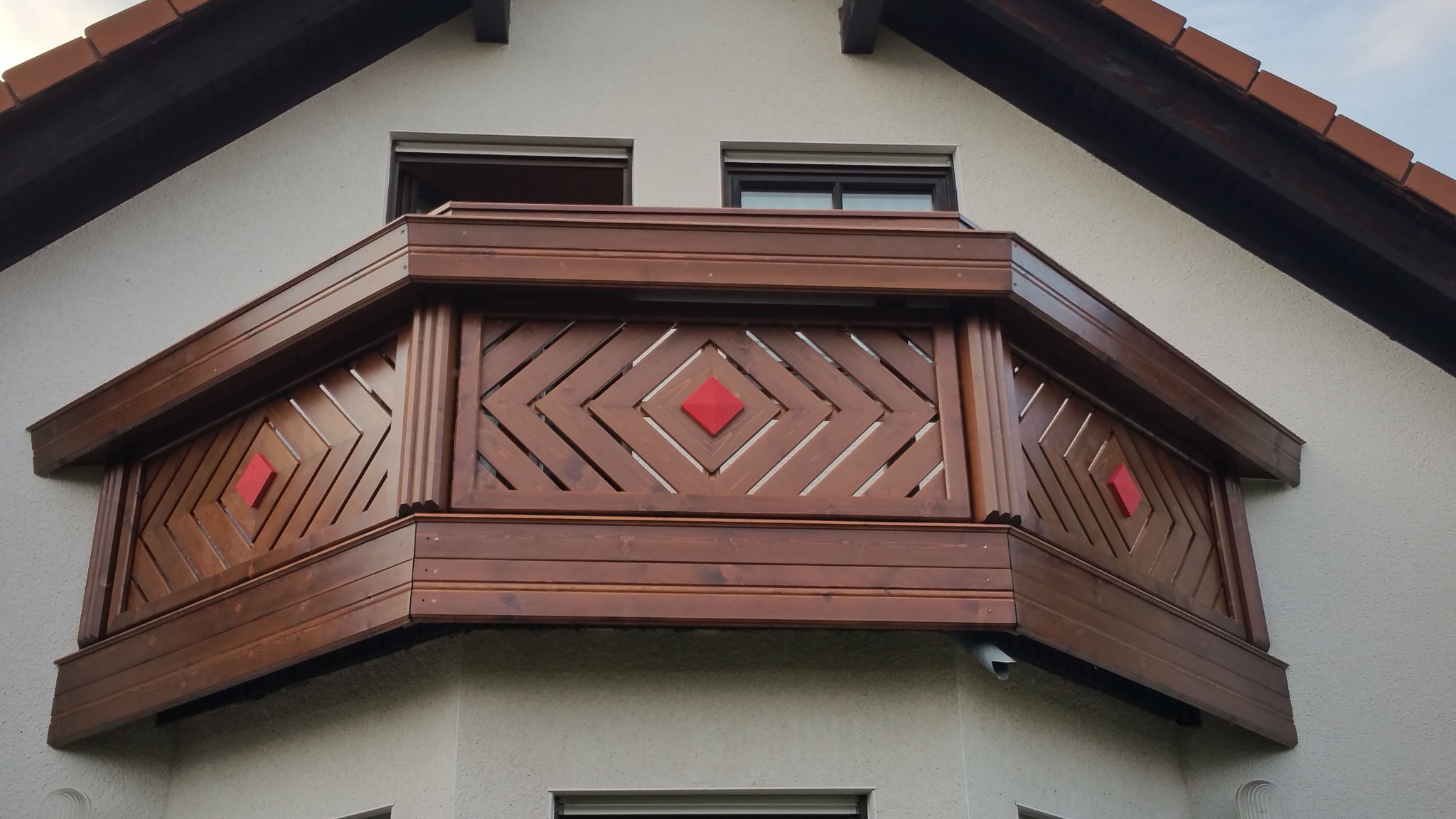 Holz Balkongeländer Kassel