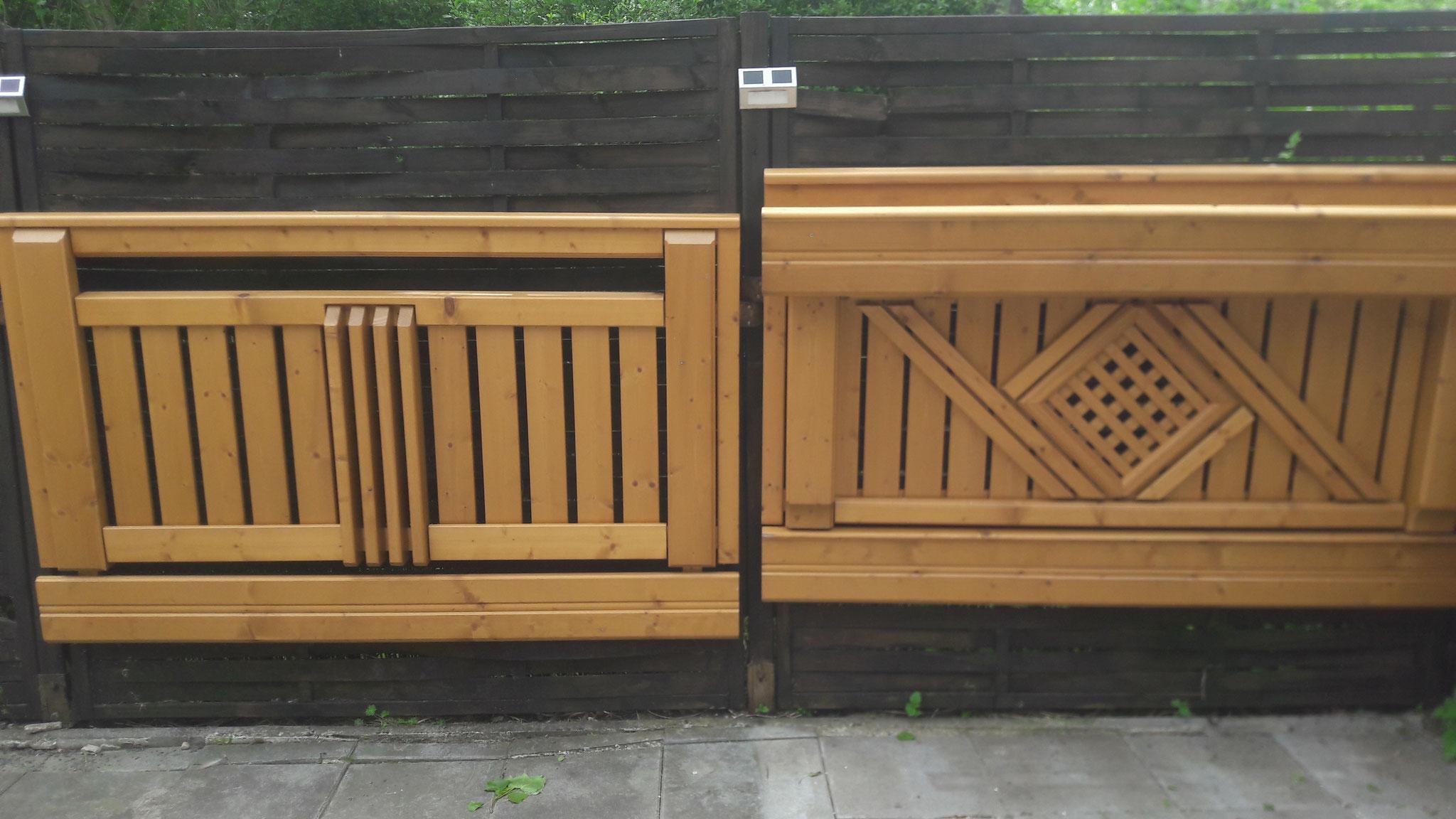 Holz Balkongeländer Gastein (rechts)