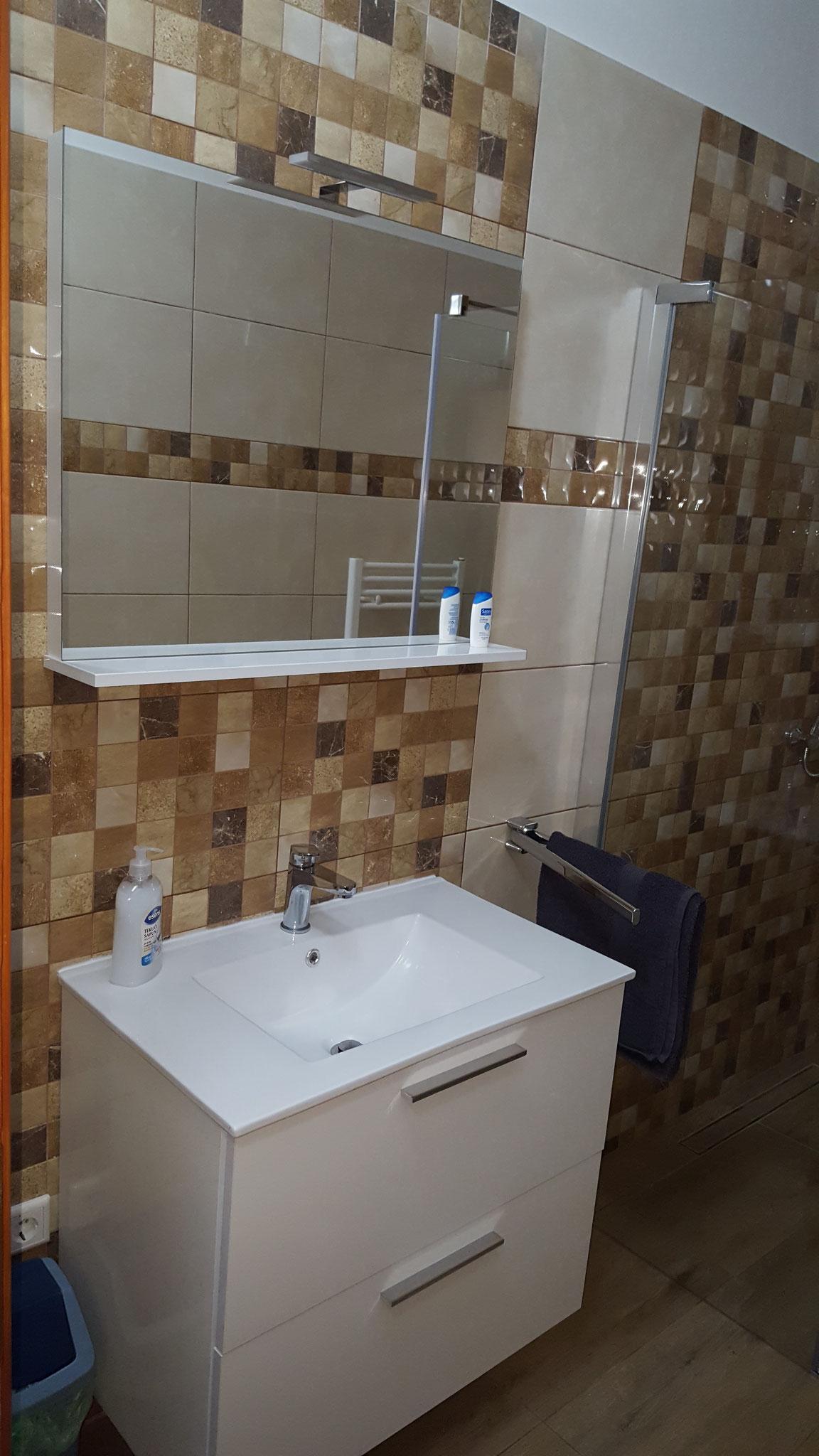 Dusche ebenerdig, WC, 2017 neu renoviert