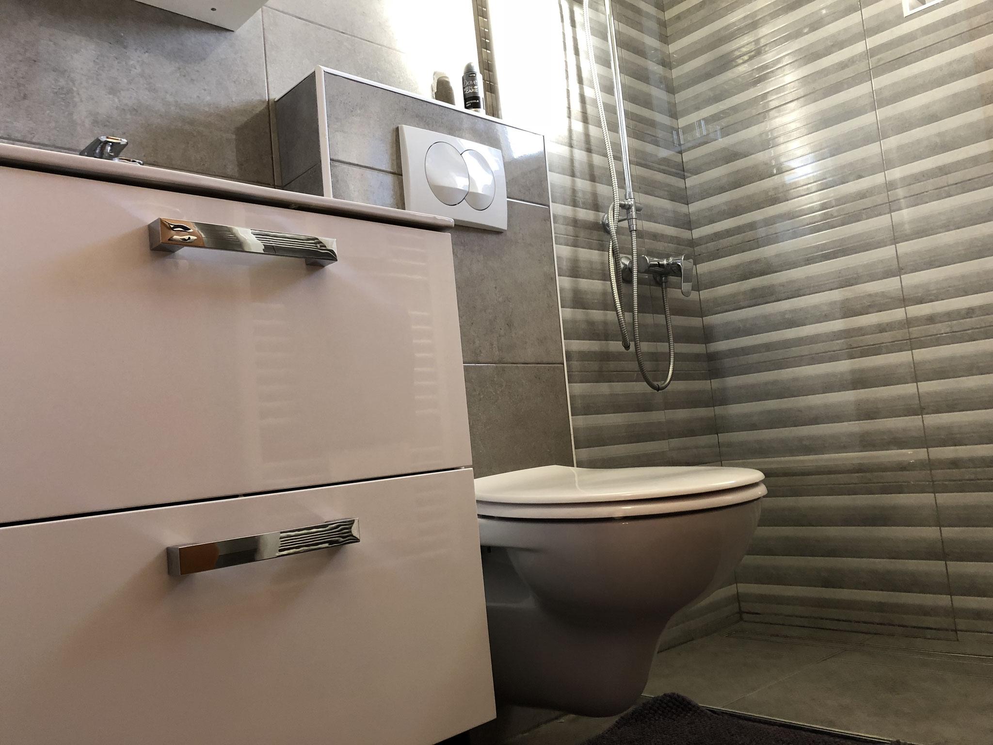 Bad, Dusche WC