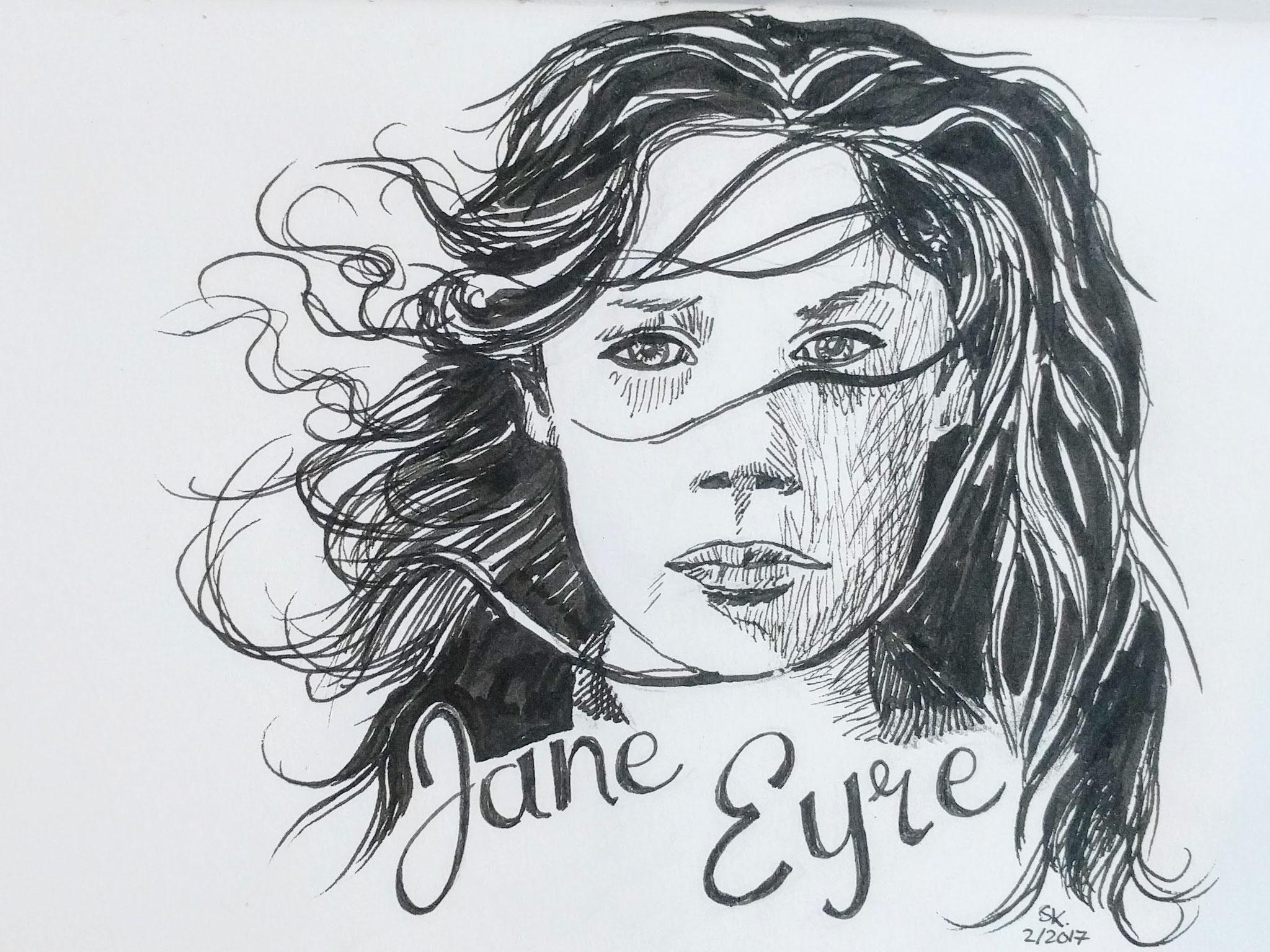 Jane Eyre (Skizzenbuch, 13x21cm)