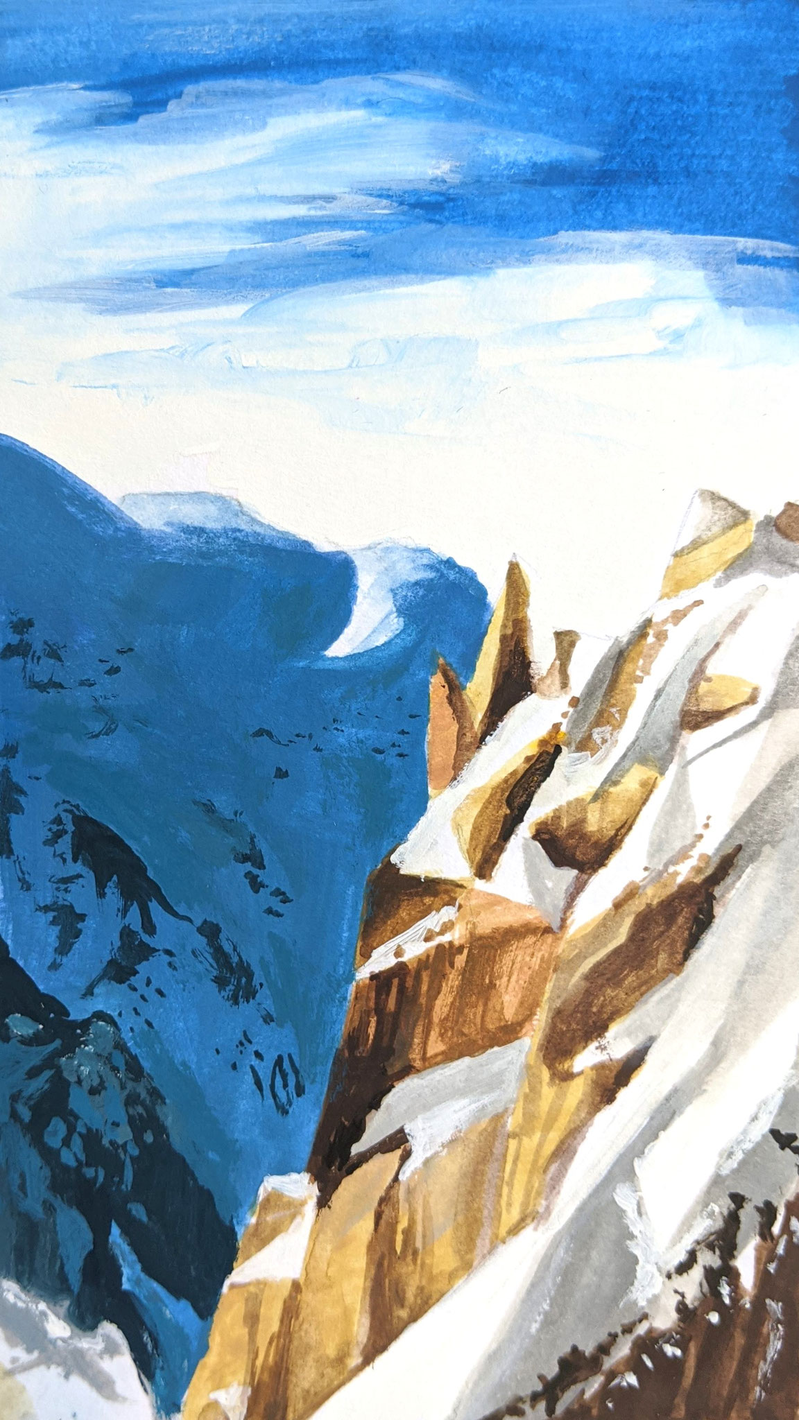 Gebirge (Aquarellskizzenbuch)