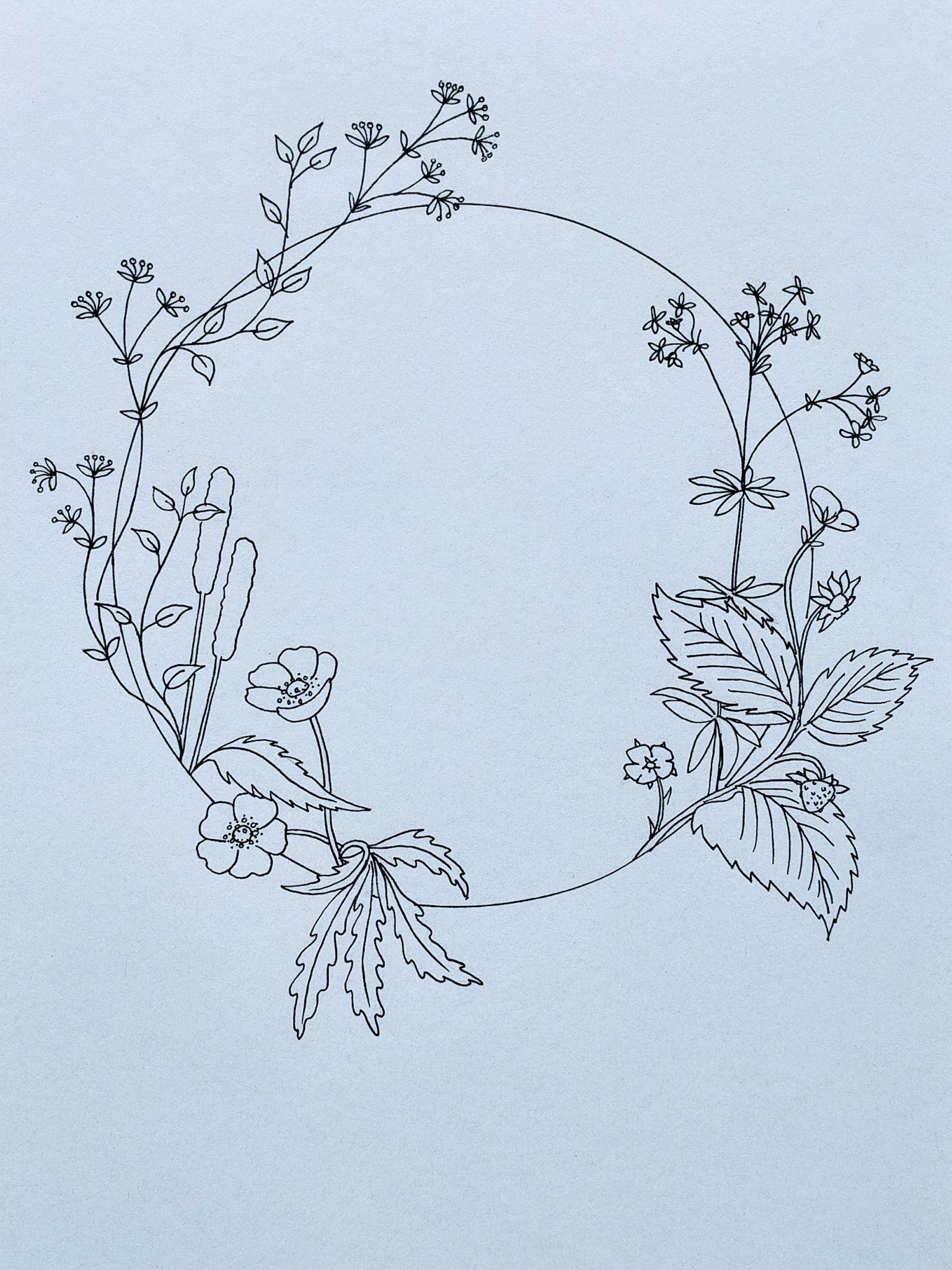 Frühlingskreis (21x29cm)