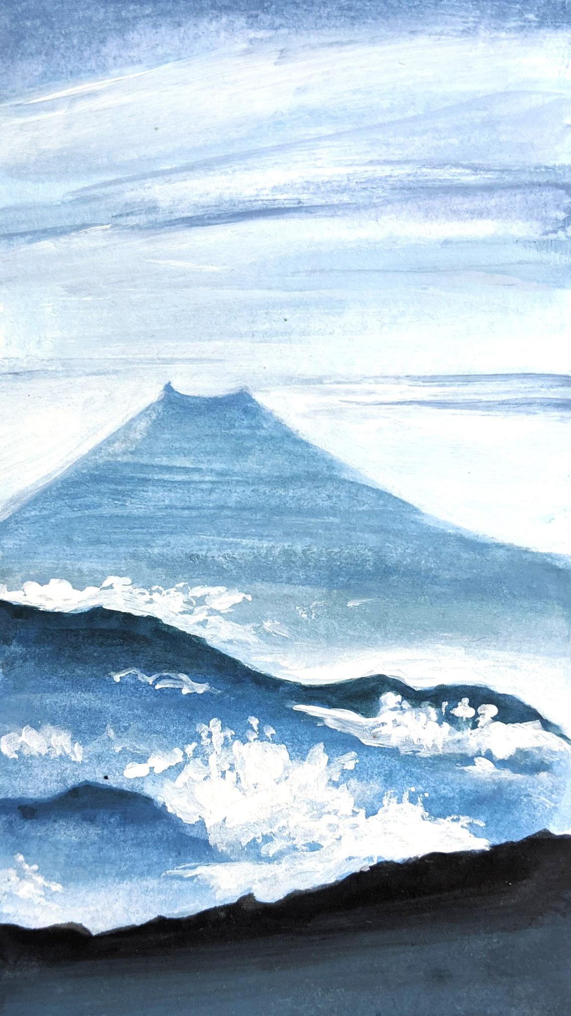 Vulkan (Aquarellskizzenbuch)