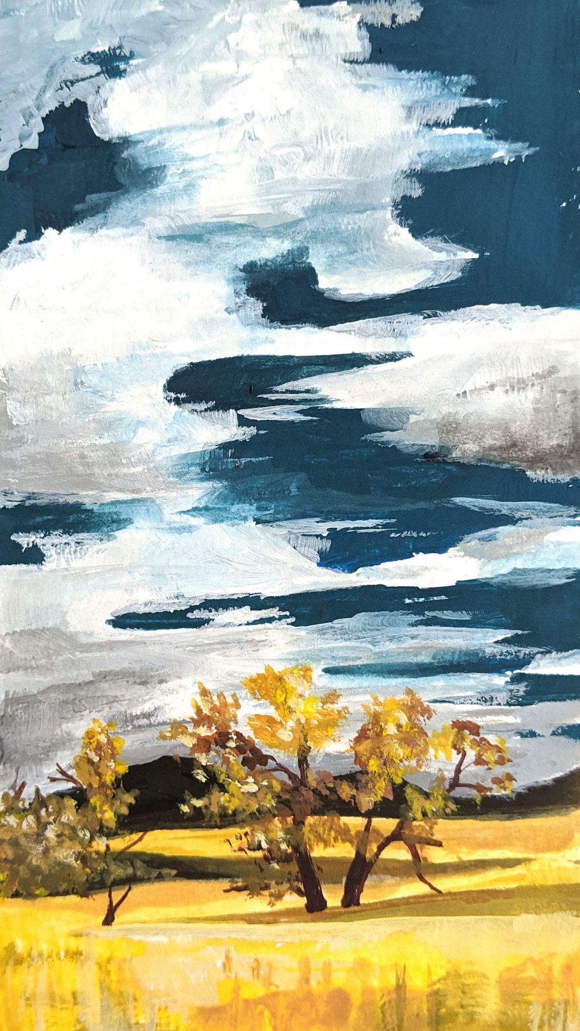Steppe (Aquarellskizzenbuch)