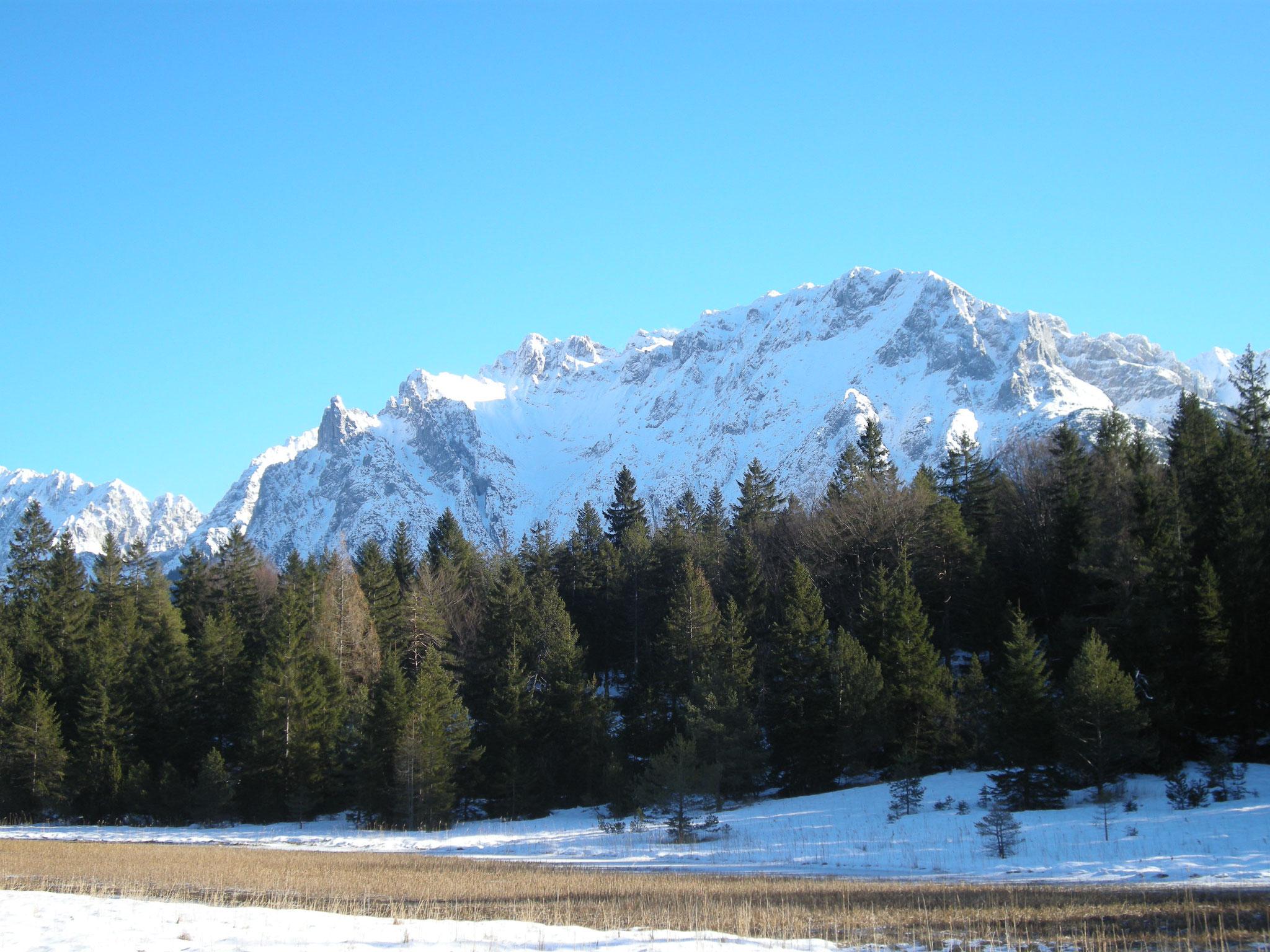 Lautersee mit Blick auf den Karwendel
