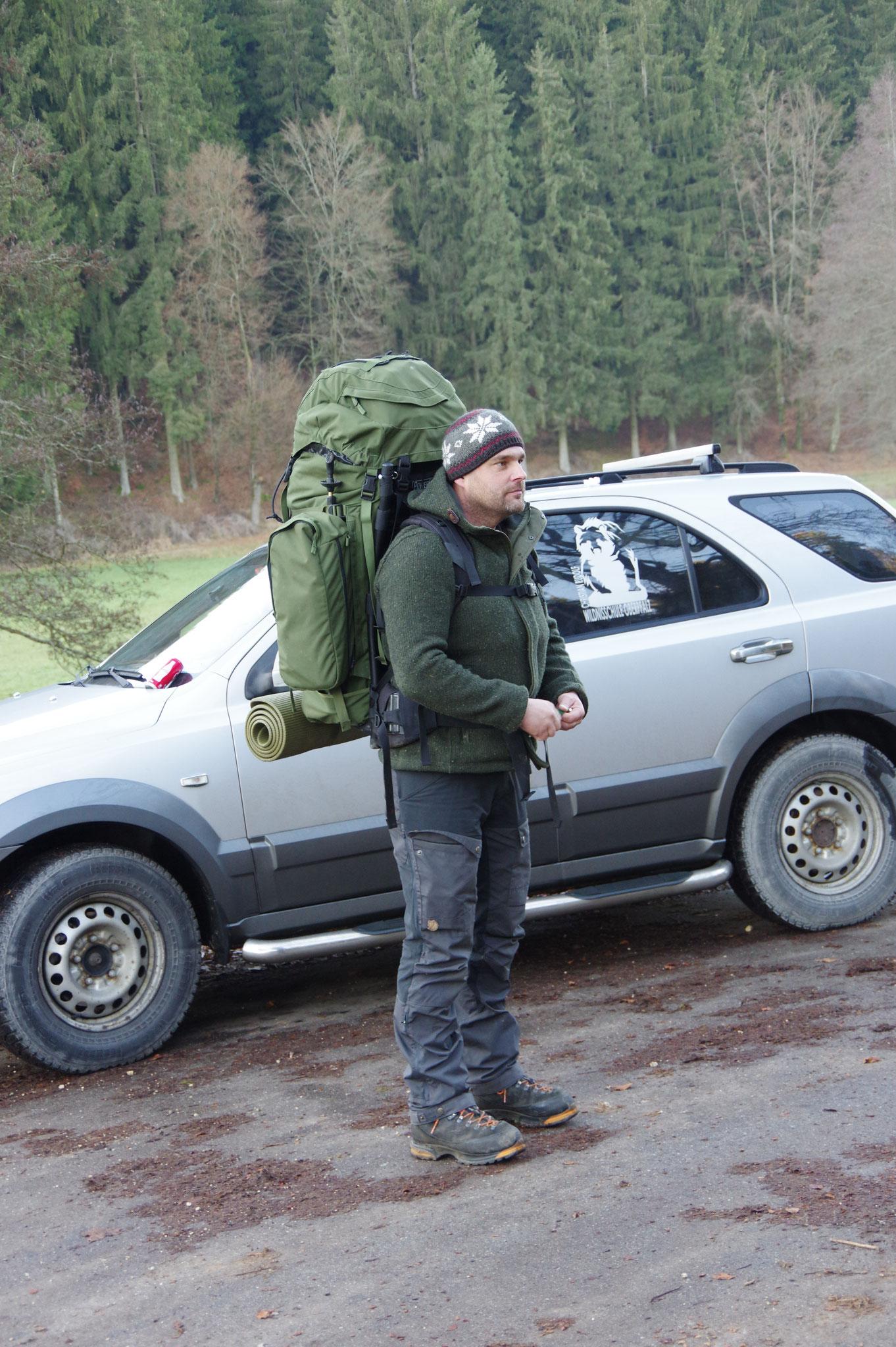 Wildnispädagogik Eindrücke Foto: Markus Mohr