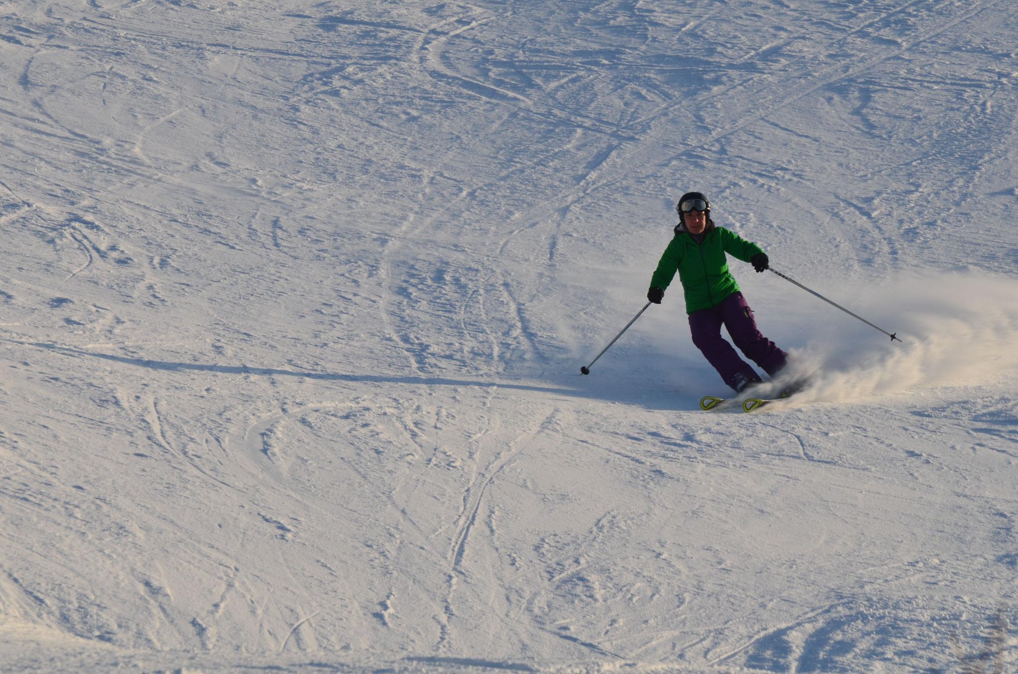 Skifahren ist und bleibt meine große Leidenschaft