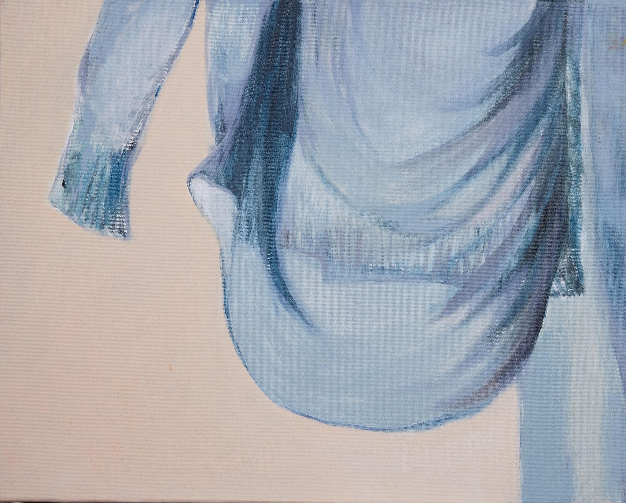 Légèreté, Huile sur toile, 2016, 40 x 50 cm