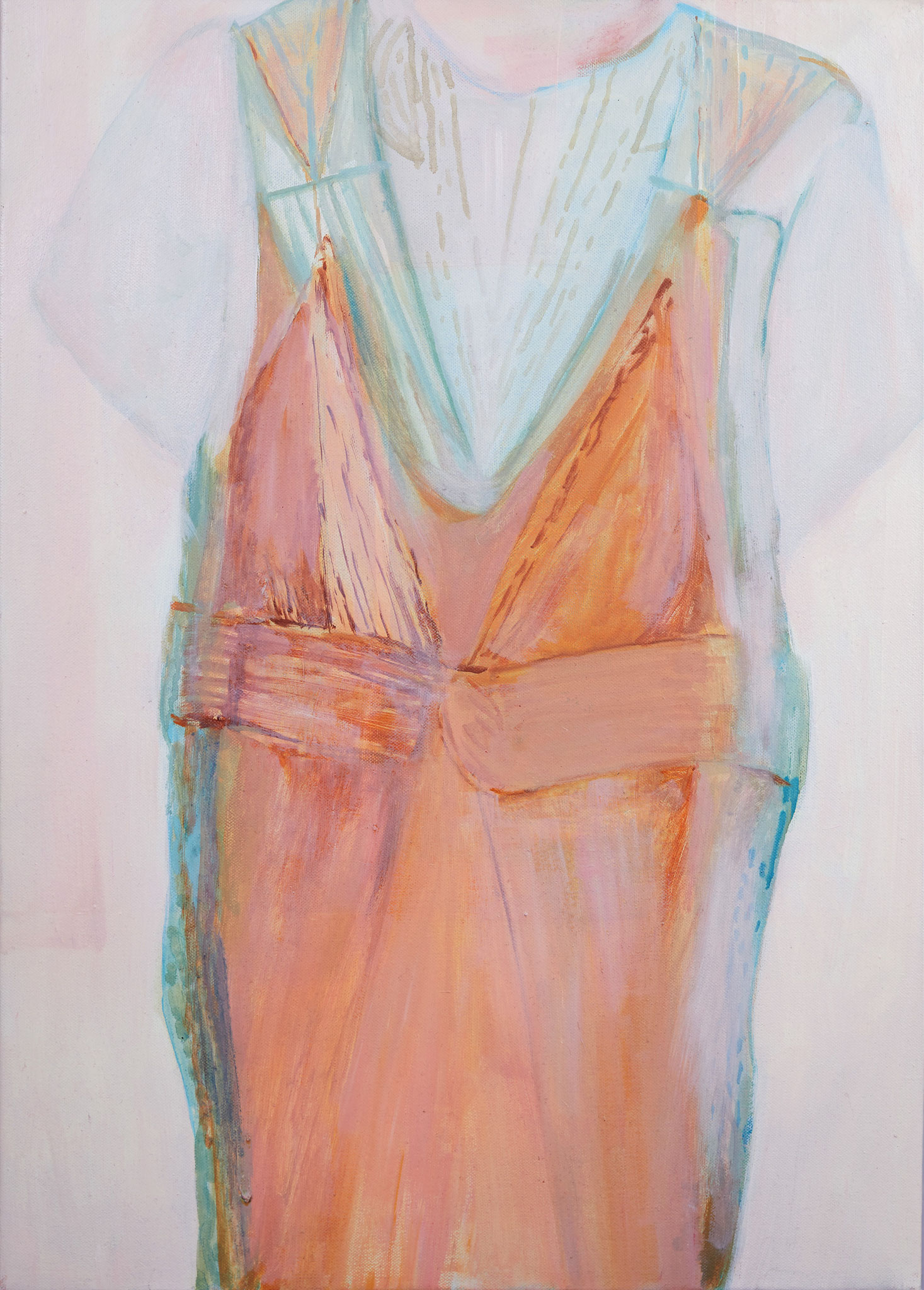 Soirée, Huile sur toile, 2016, 50 x 70 cm