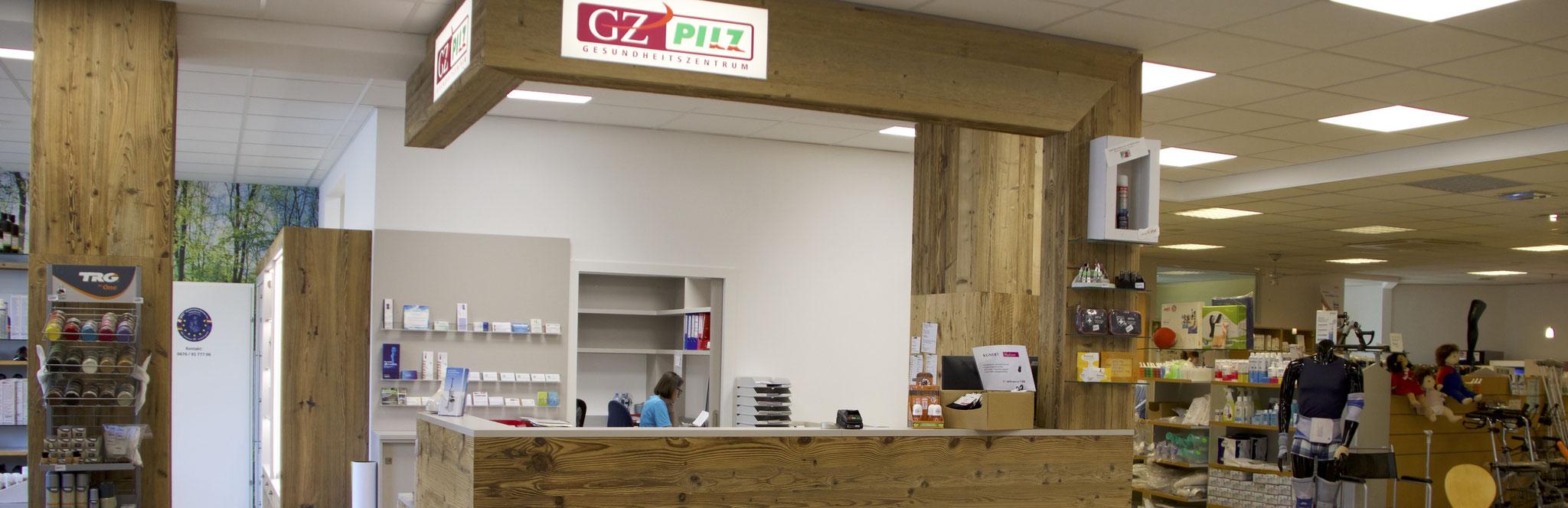Herzlich Willkommen im Gesundheitszentrum Pilz