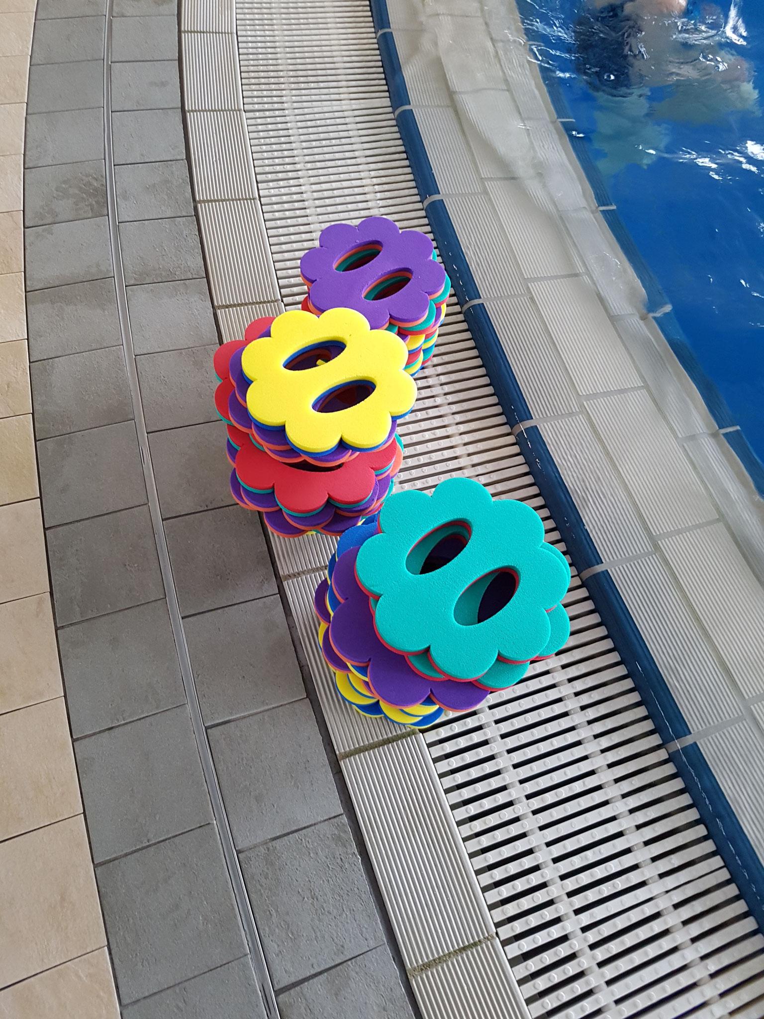 Material Handpeddles Blümchen