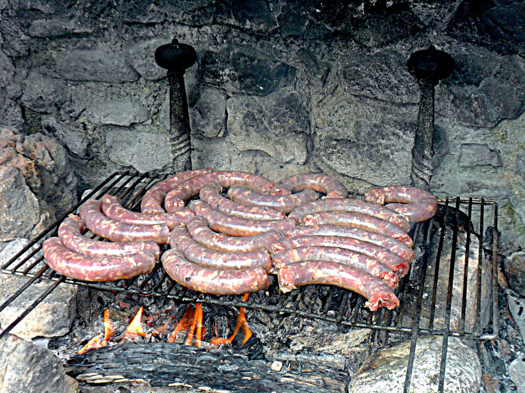 saucisses de l'Aveyron