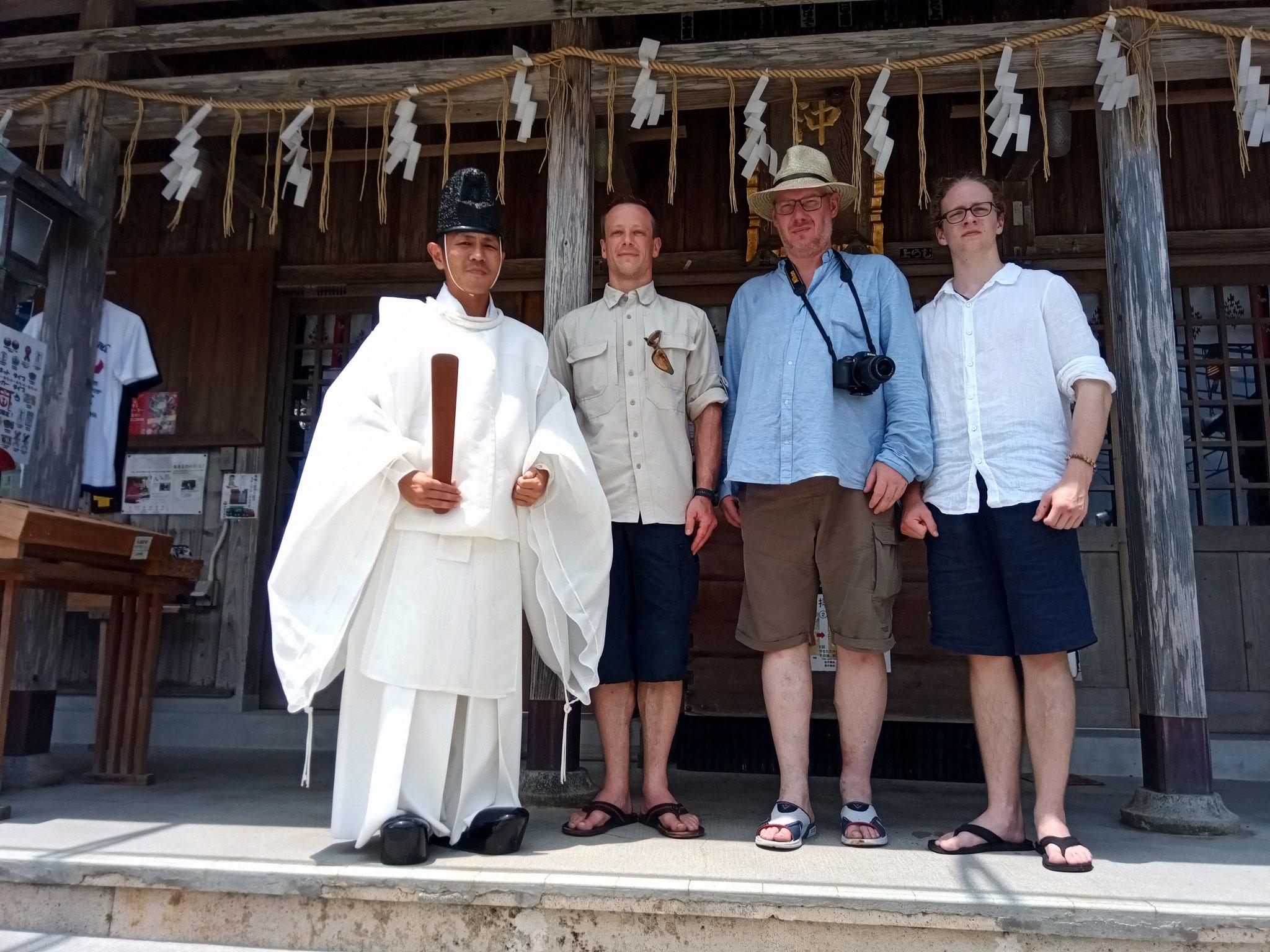 Karate Geschichtstour – Schrein Okinogu