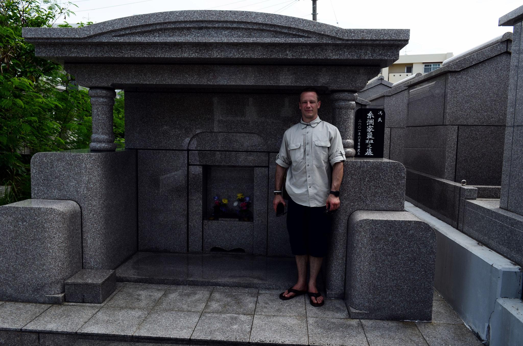 Karate Geschichtstour – Grab von Anko Itosu