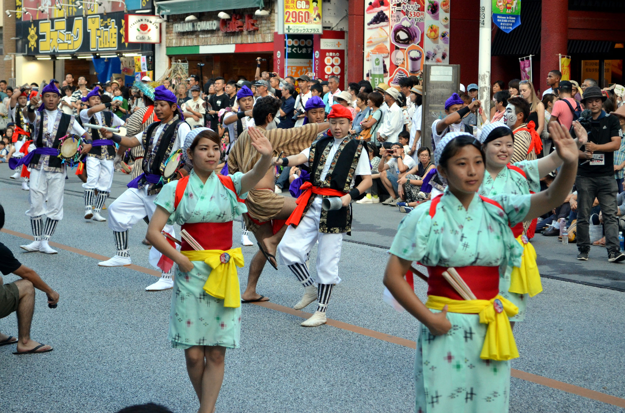 Eisa Dancers Parade