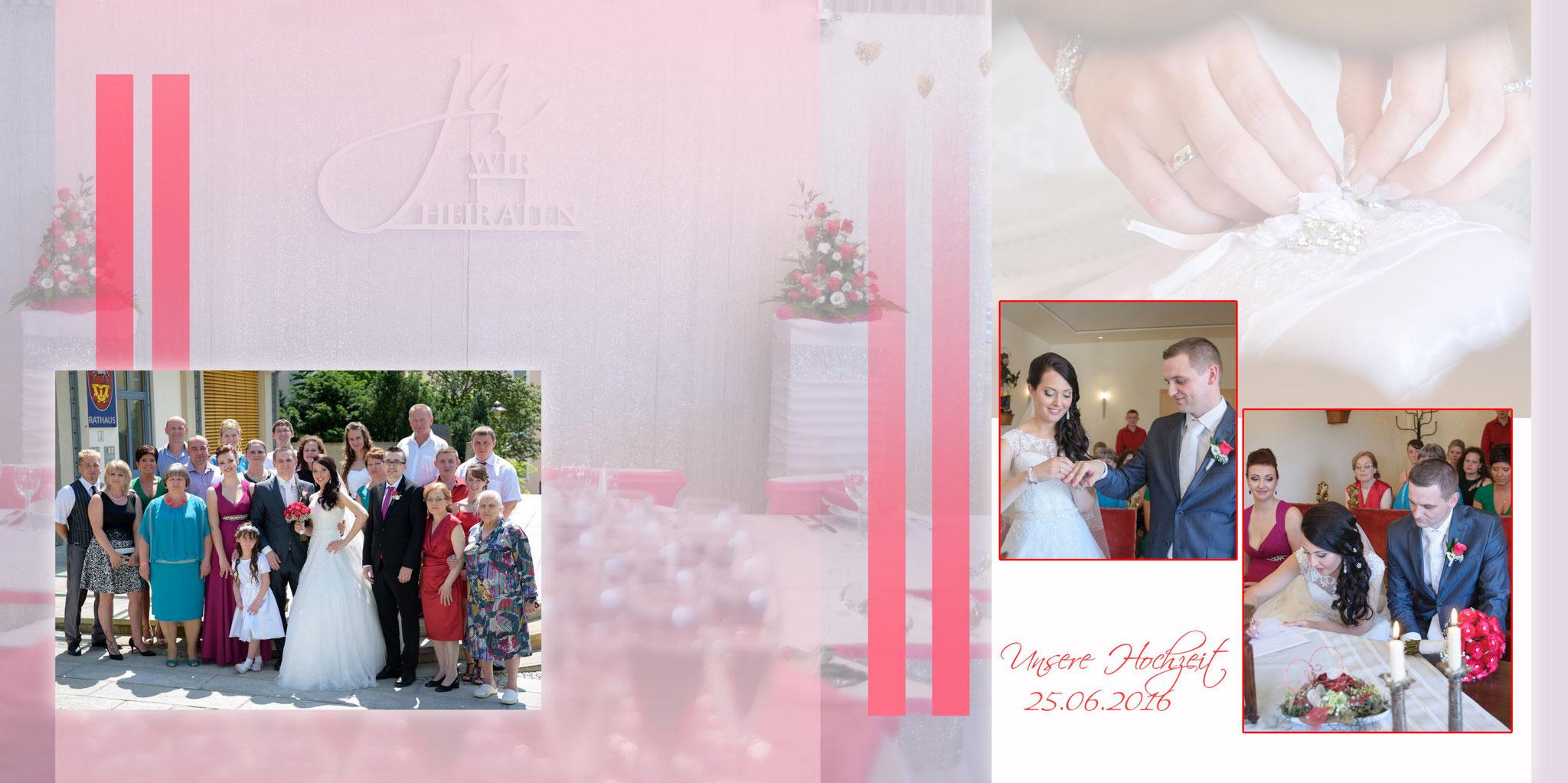 Fotobuch Hochzeit Seite 15