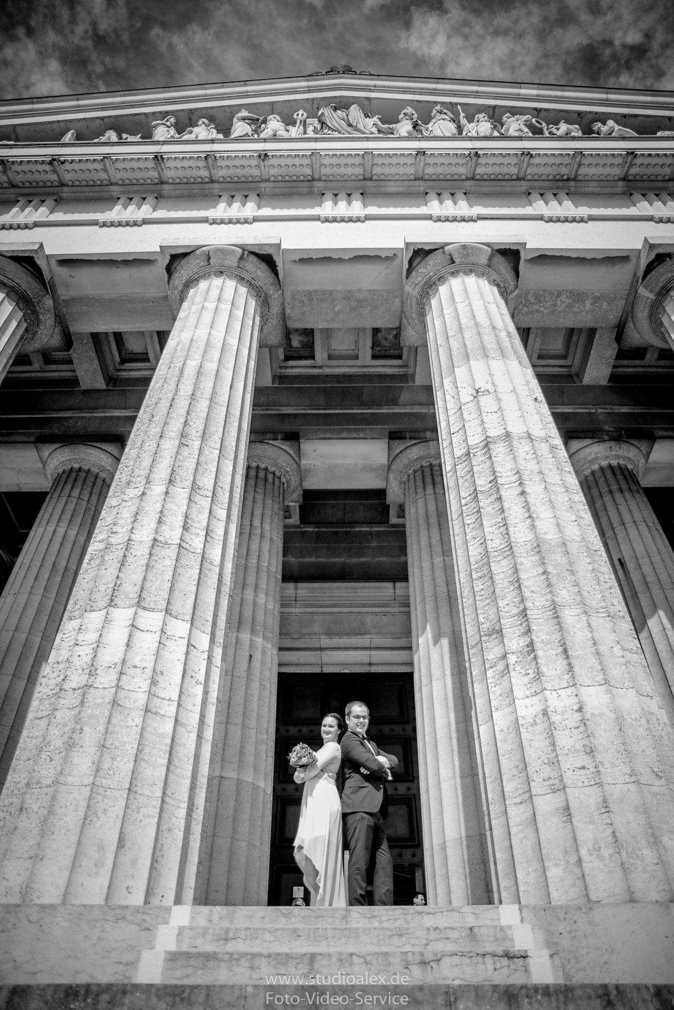 Fotograf für Hochzeit Walhalla