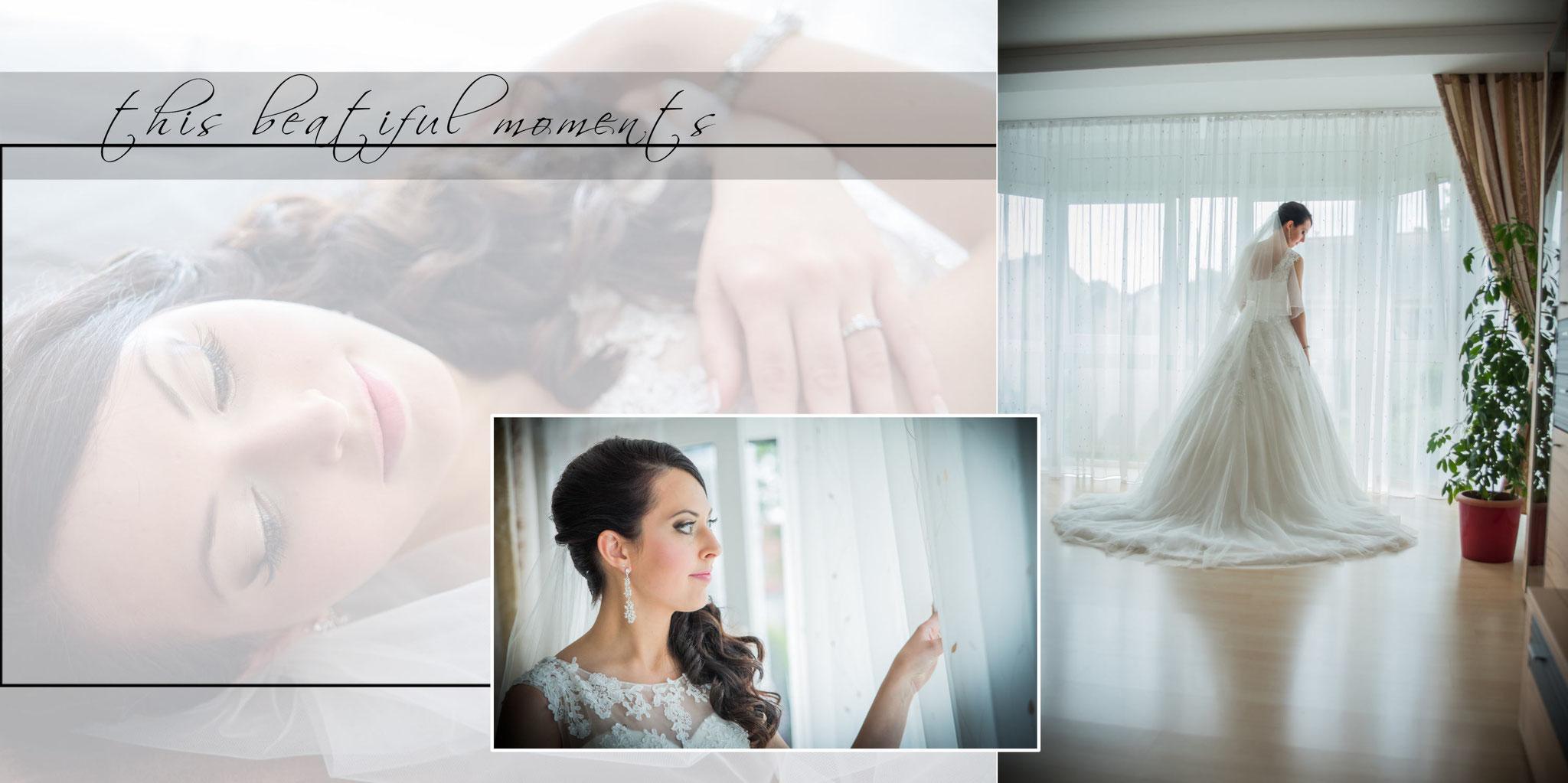 Fotobuch Hochzeit Seite 1