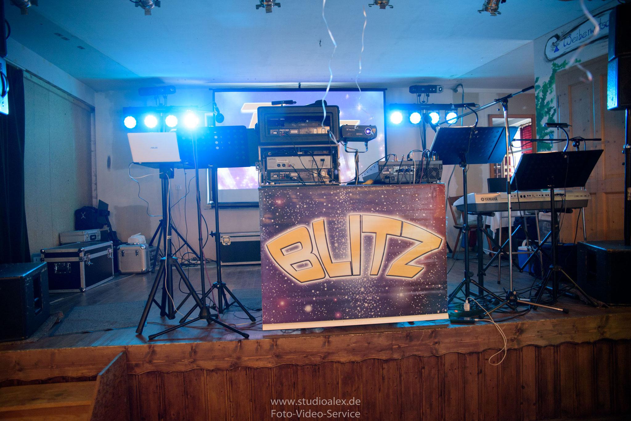 Musikgruppe Blitz aus Regensburg in Landgasthof Rouherer
