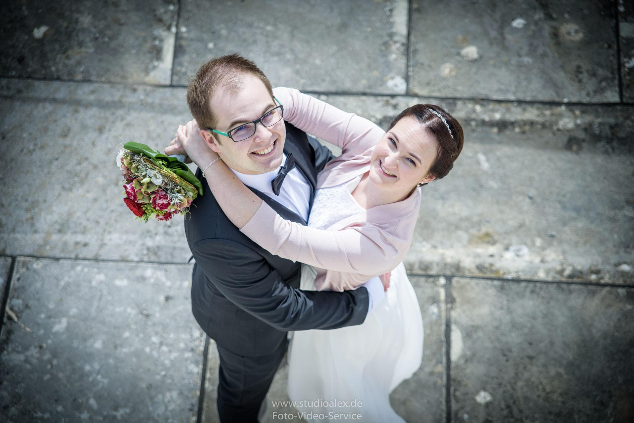 Hochzeitsfotografie Walhalla bei Regensburg