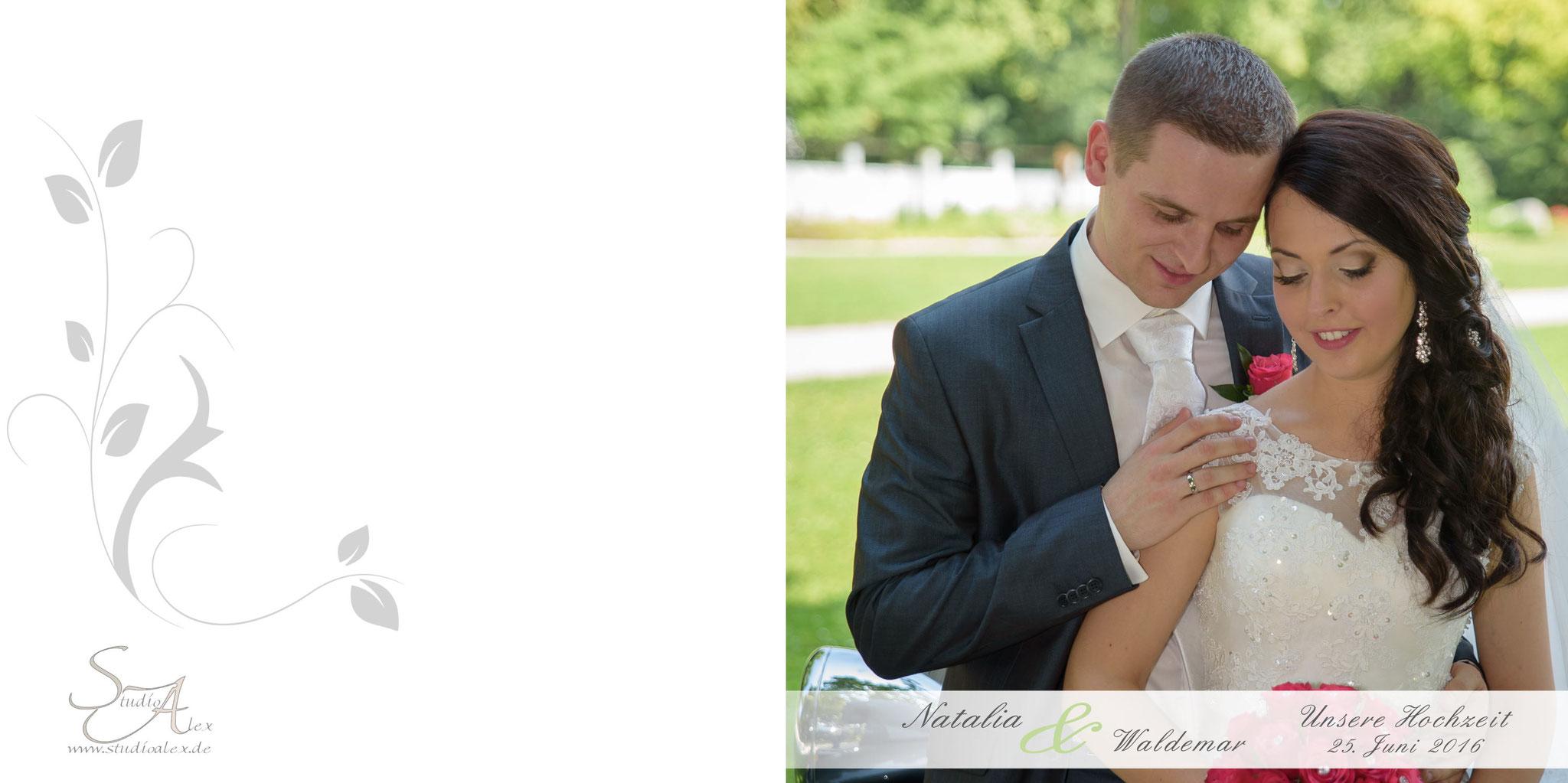 Hochzeitsfotobuch Coverbild
