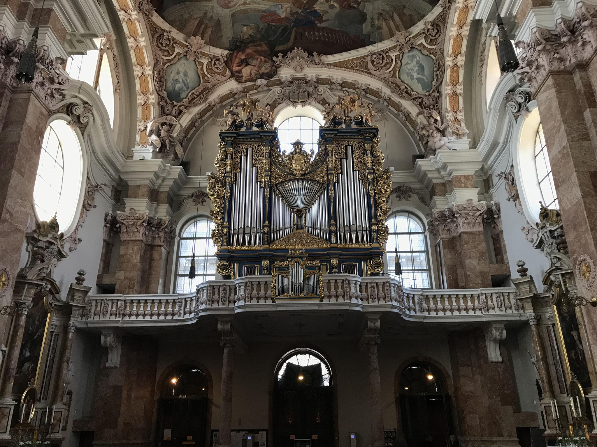 Pirchner-Orgel 1725 im Dom St. Jakob Innsbruck